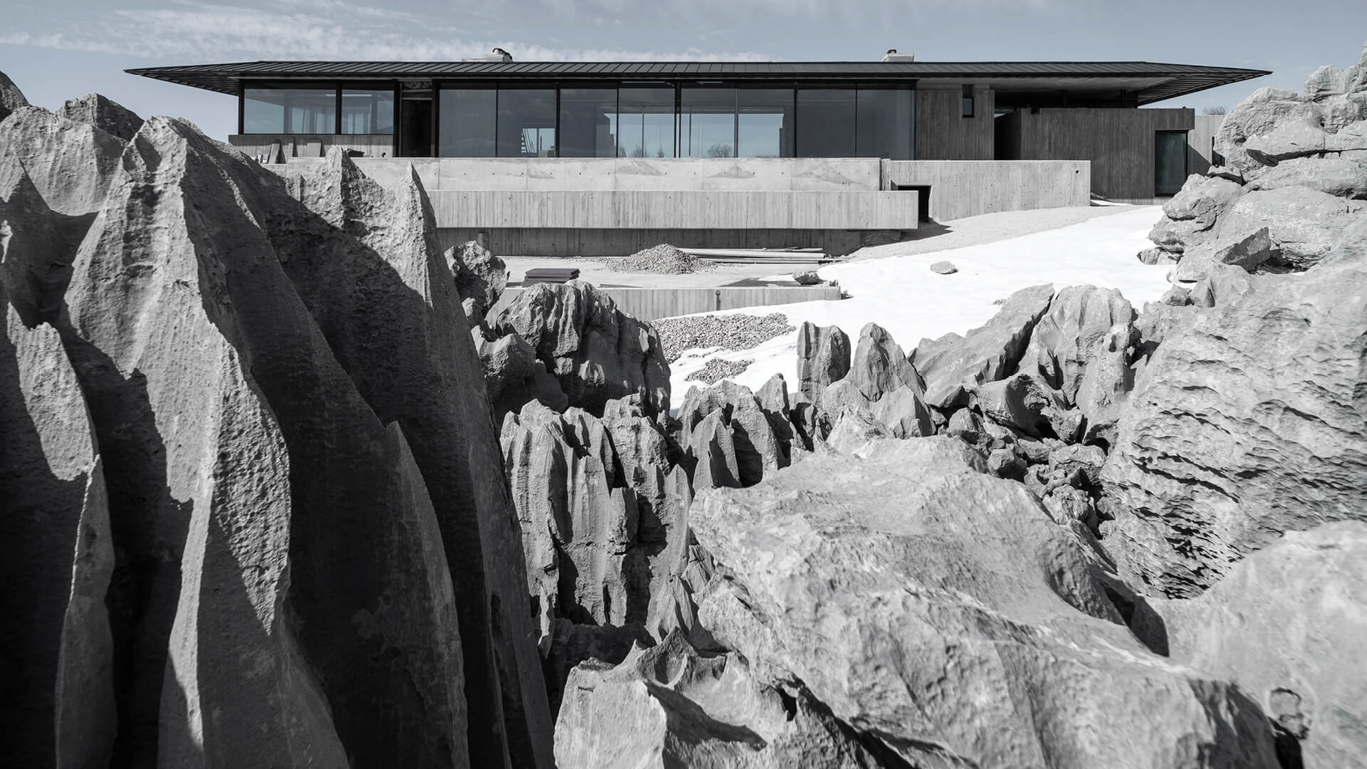 'On the Rocks' by Karim Nader Studio is designed as a glass and concrete retreat in Faqra, Mount Lebanon | On the Rocks | Karim Nader Studio | STIRworld