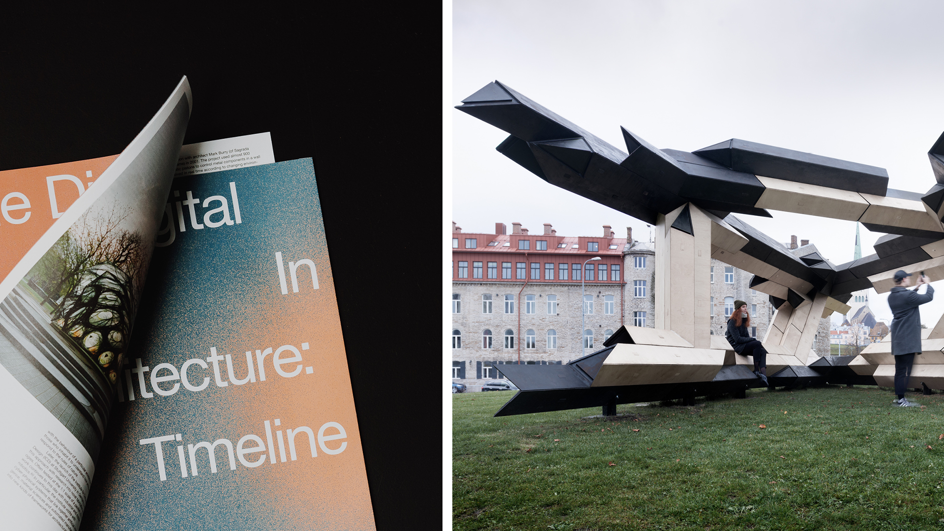"'The Digital in Architecture' authored by Mollie Claypool; Giles Retsin Architecture, ""Tallinn Architecture Biennale Pavilion"", 2017 