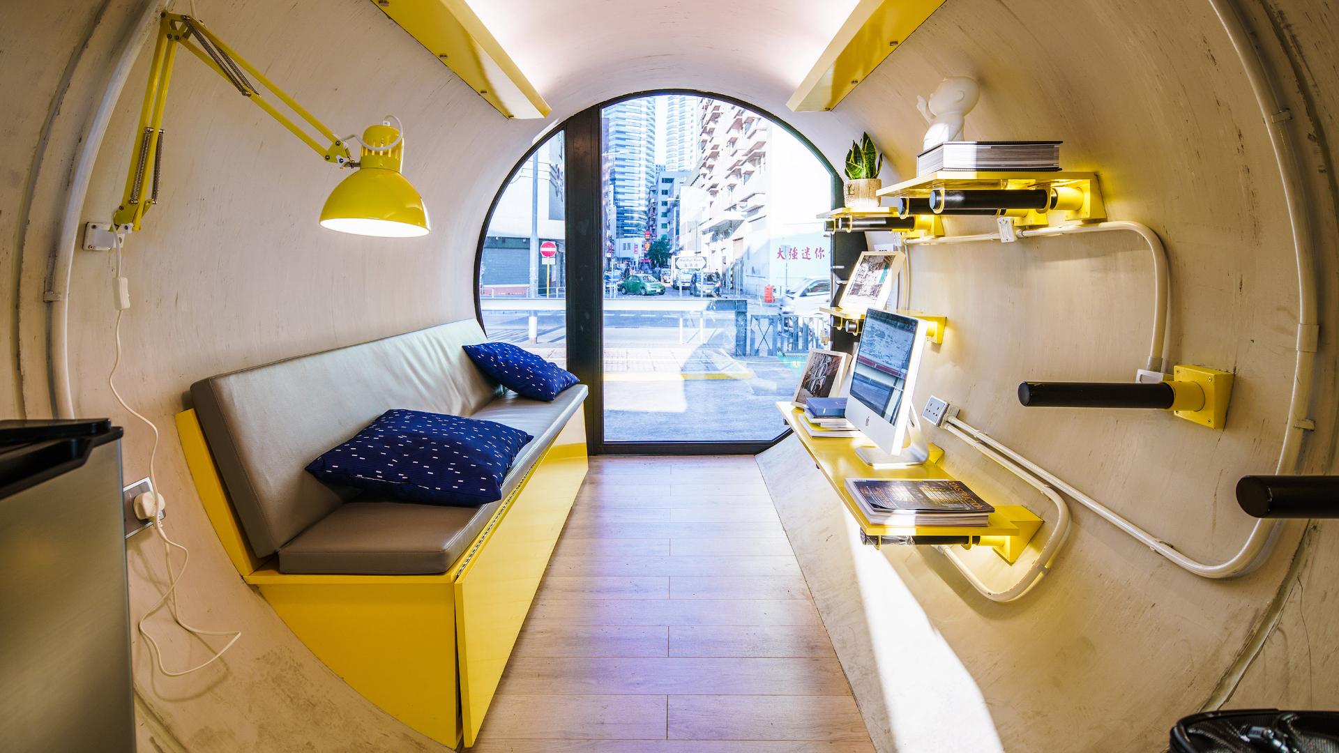 OPod Tube House, Hong Kong