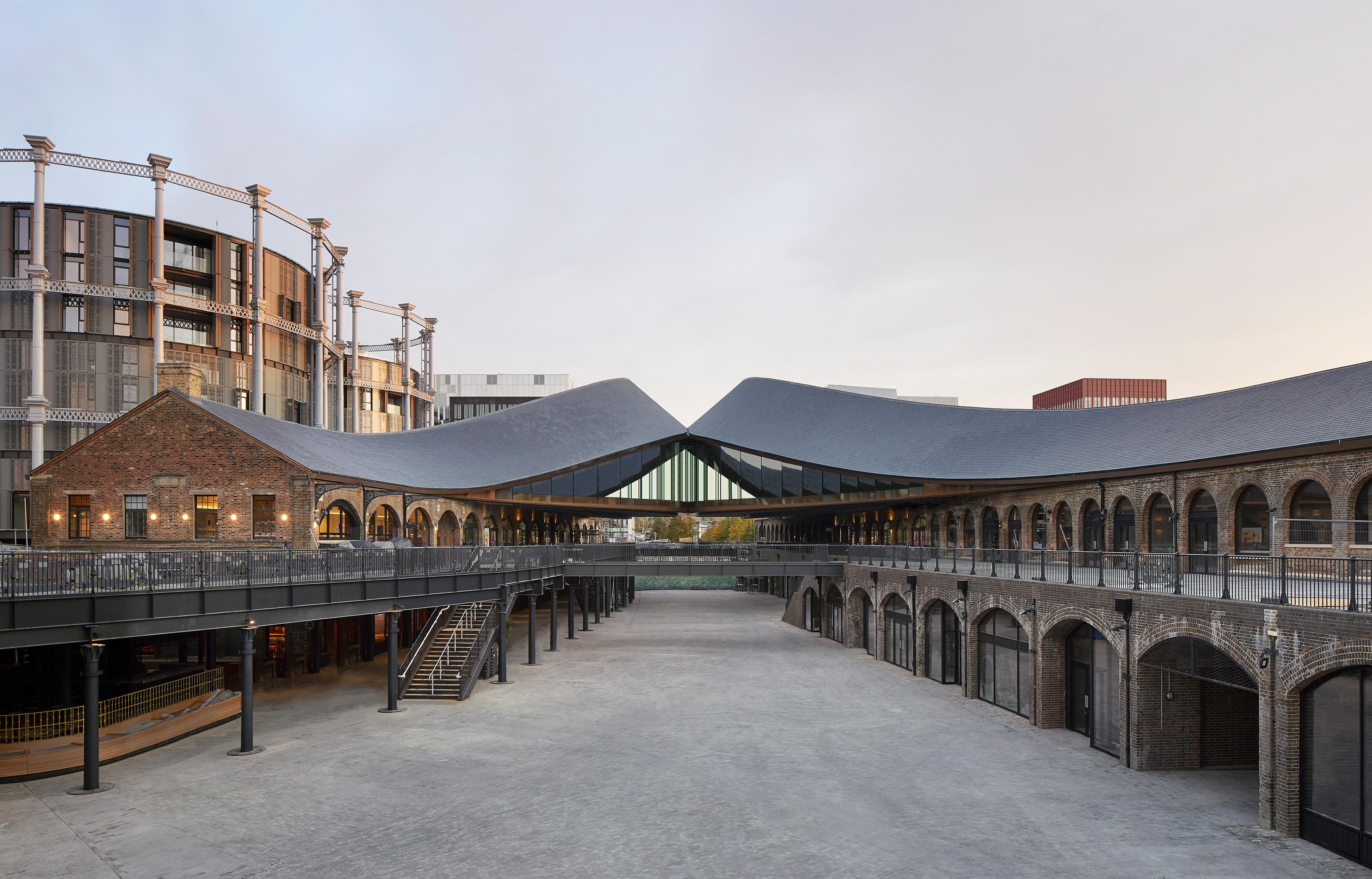 Heatherwick Studio's 'kissing buildings' create a stir in London