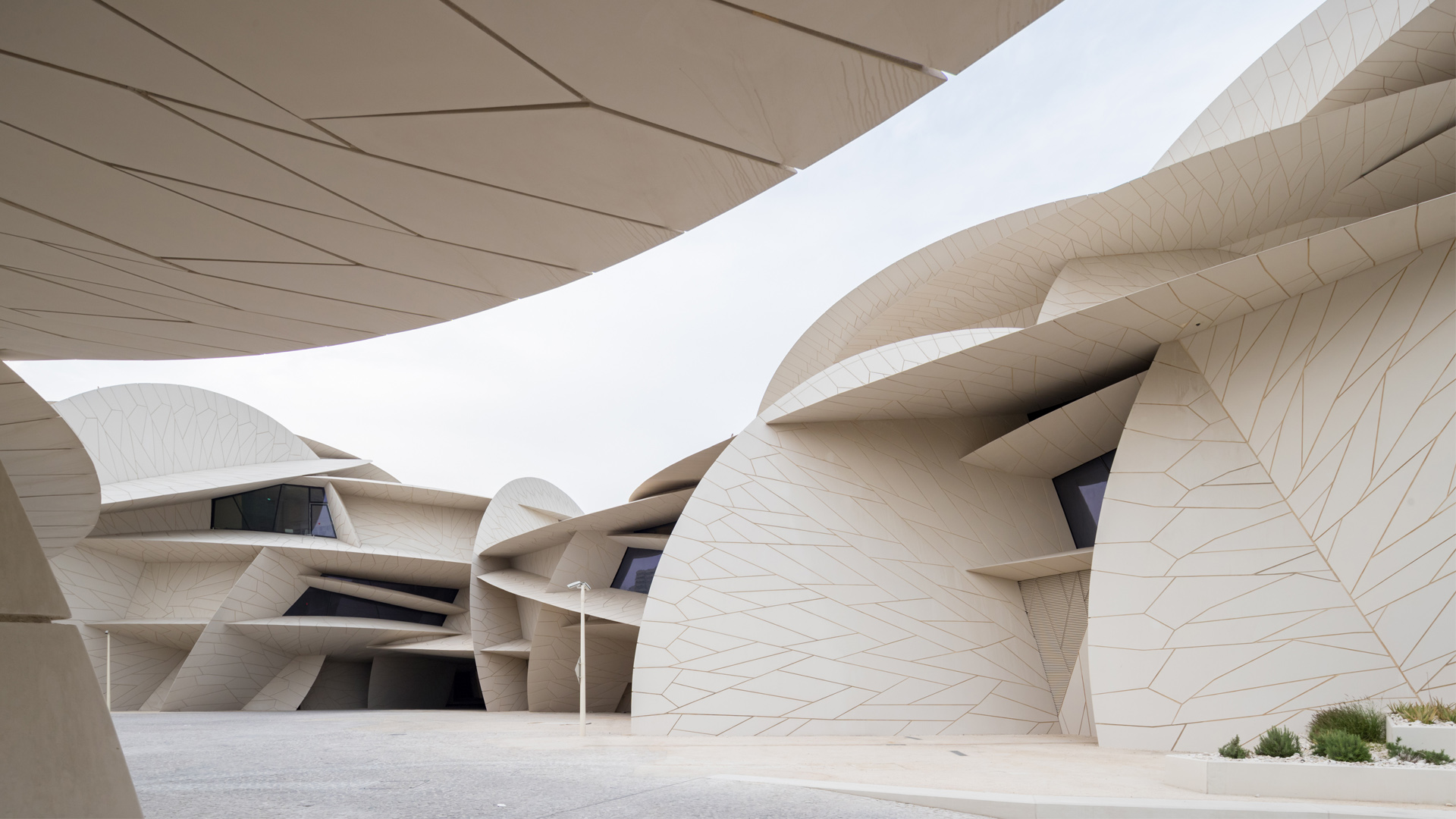 A cultural context for the National Museum of Qatar by Jean Nouvel