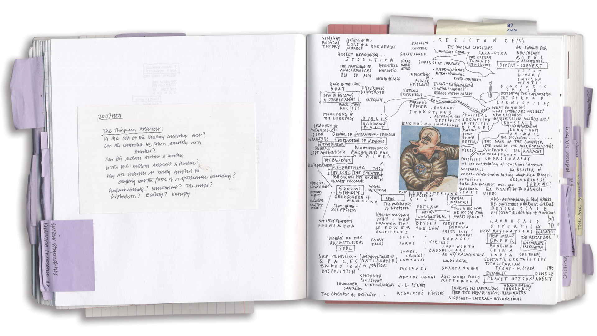 Pages from the Sketchbook – Roger Connah