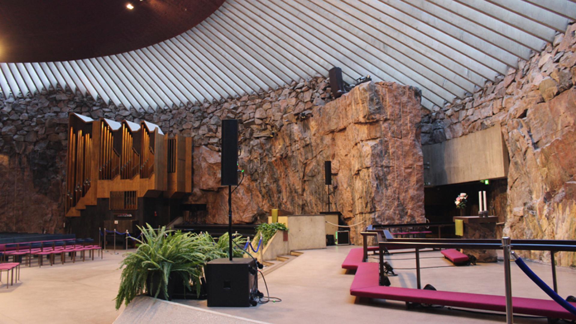 The sacred architecture of Helsinki
