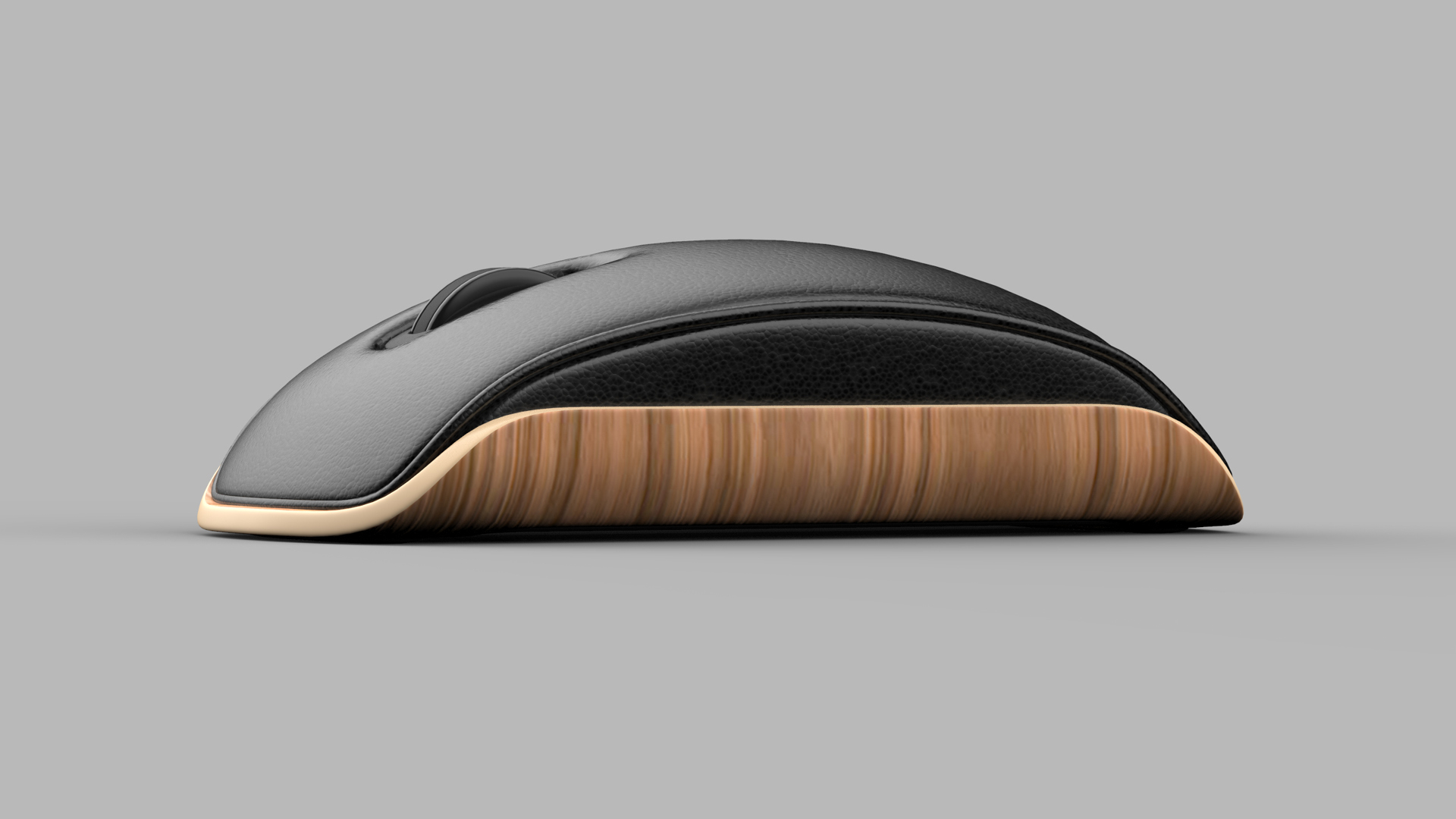 The lounge mouse concept by Shane Chen is inspired by the Eames Chair