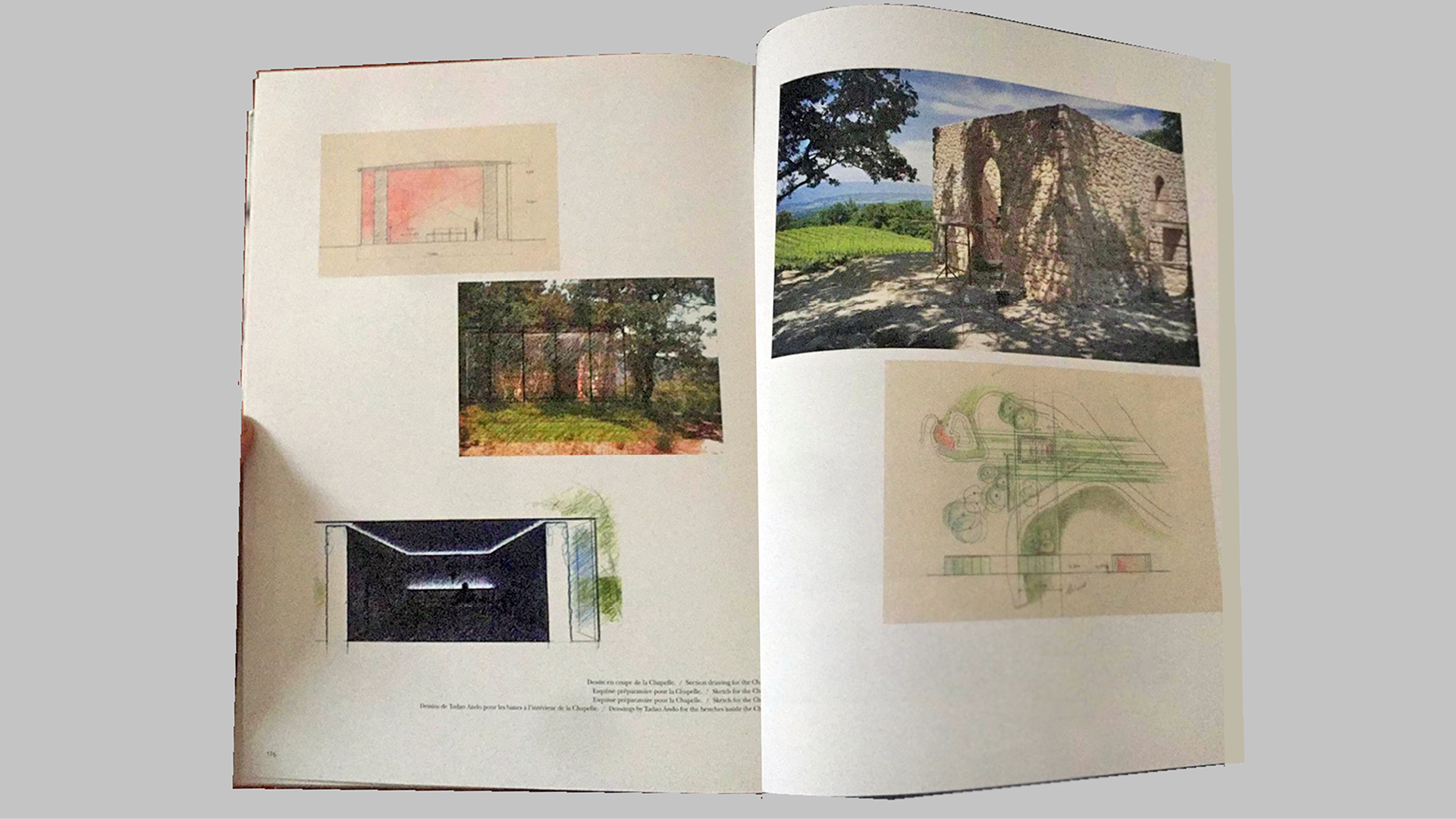 Illustrations from the book <i>Tadao Ando: Château La Coste</i> by Philip Jodidio