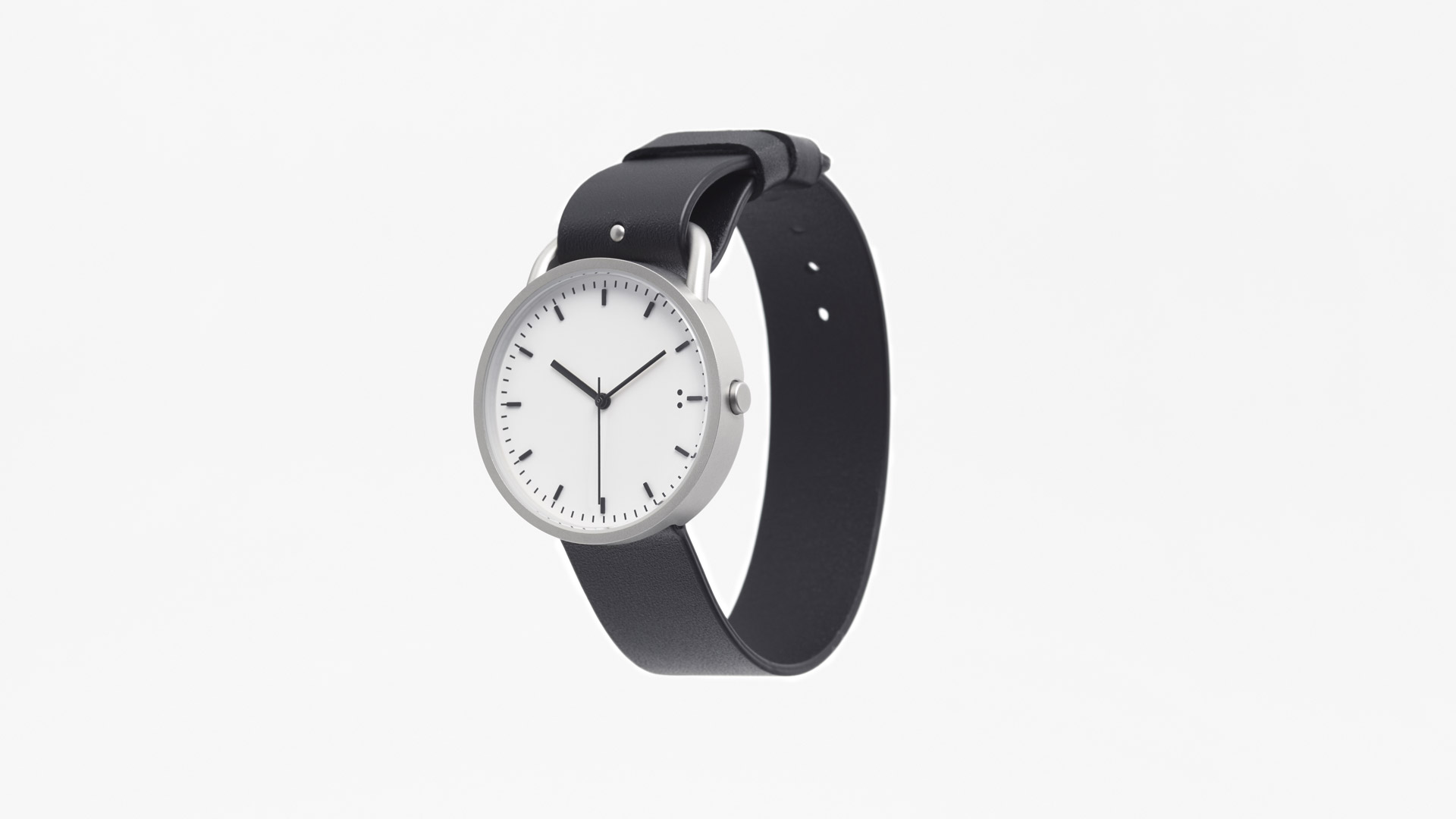 Japanese minimalism in this new watch by Nendo
