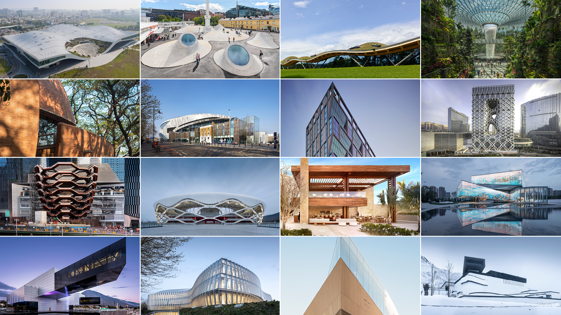 Few of the shortlisted entries for World Architecture Festival (2019) awards that will be held in Amsterdam in December