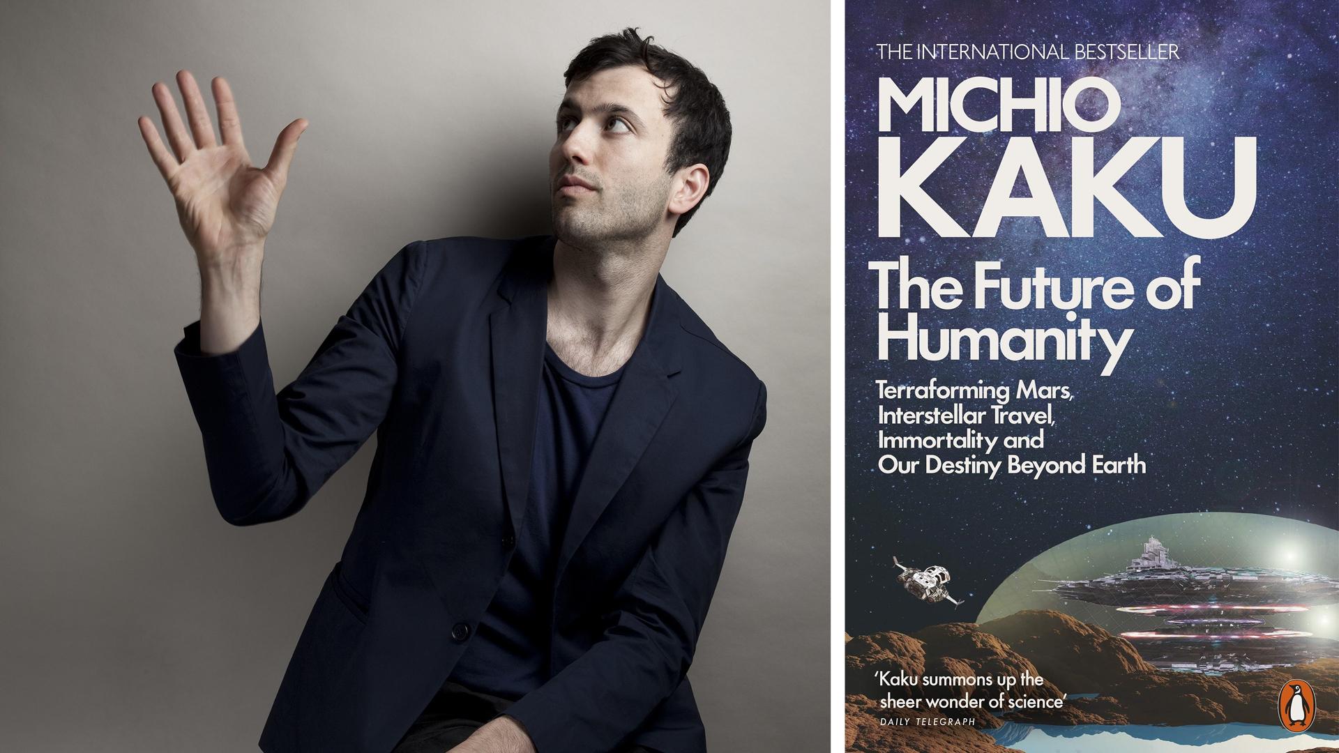 Paul Cocksedge, and the book <i>The Future of Humanity</i>| The Future Of Humanity| Michio Kaku| Paul Cocksedge| STIR