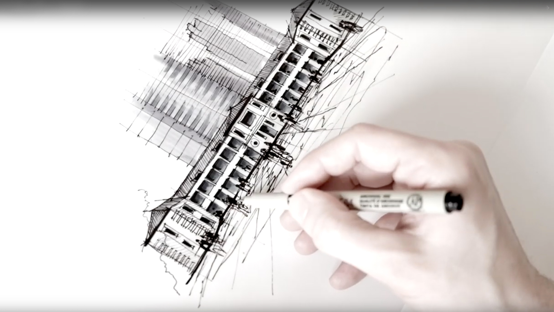 Exploring Hong Kong - a drawing tutorial with Dan Hogman