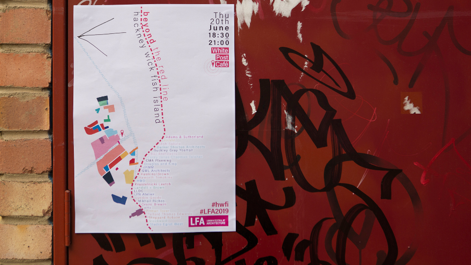 Does Hackney Wick Fish Island, London, go beyond the red line?
