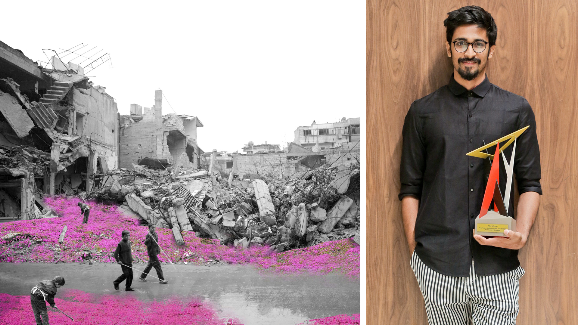 Indian architect Tanay Bothara proposes a bright future for war-torn Syria