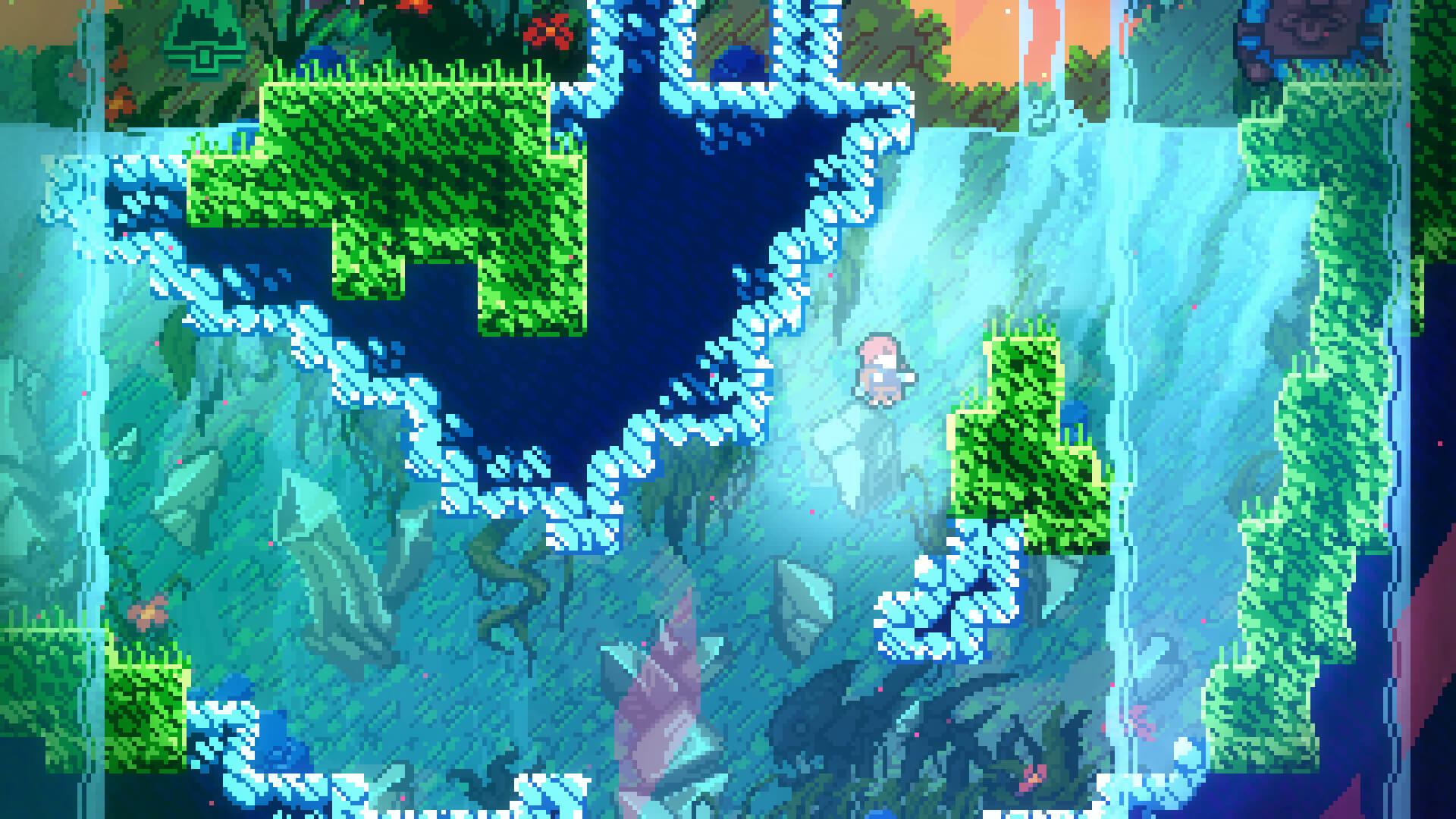 A frame from the popular game Celeste | Matt Makes Games | Celeste | STIRworld