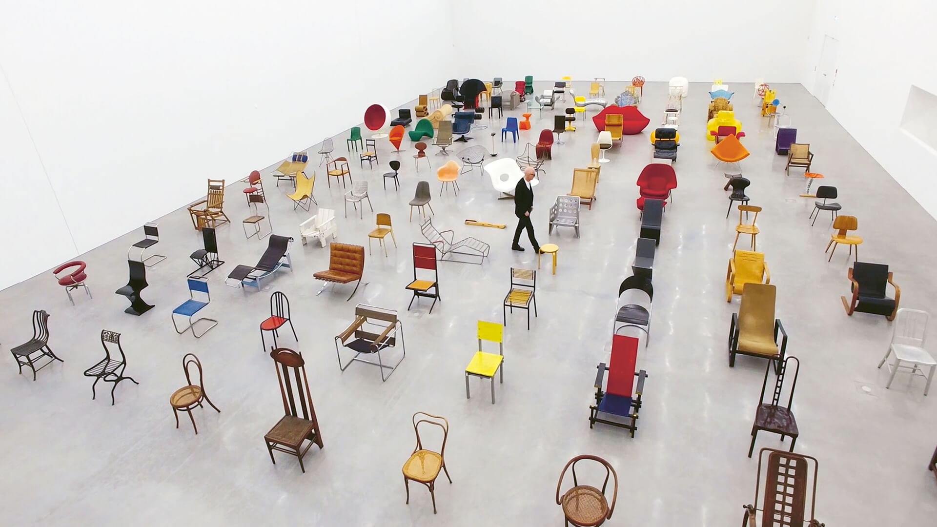 A glimpse from the movie | Chair Times | Vitra | STIRworld