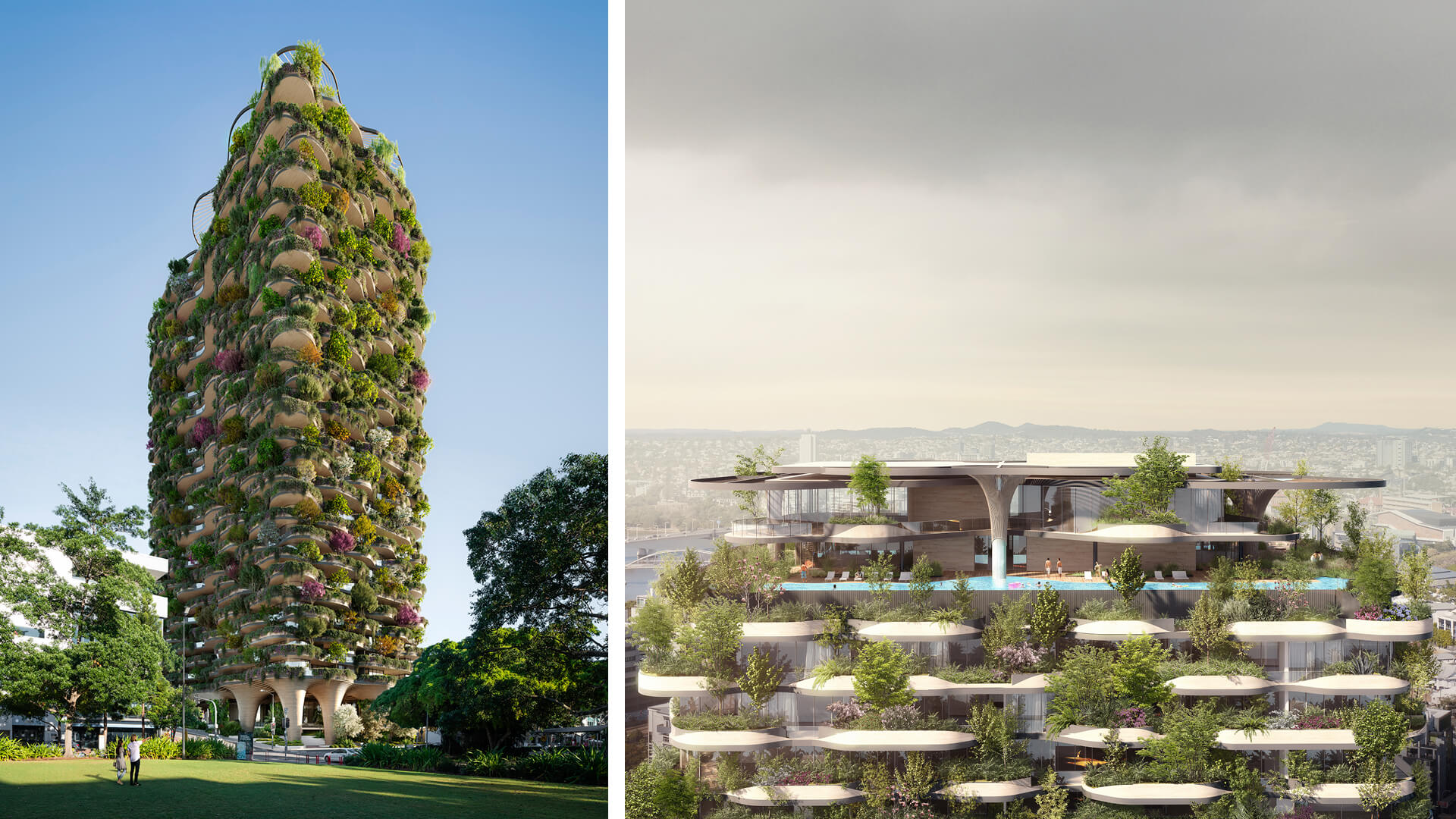 A glimpse of 'Urban Forest' in Brisbane by Koichi Takada Architects | Urban Forest by Koichi Takada Architects | STIRworld