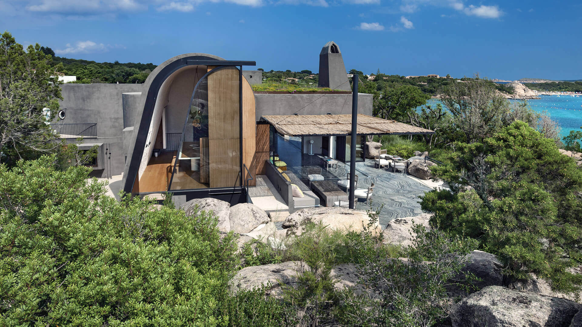 Stera Architectures designs A House in Sardinia that evokes its seaside heritage