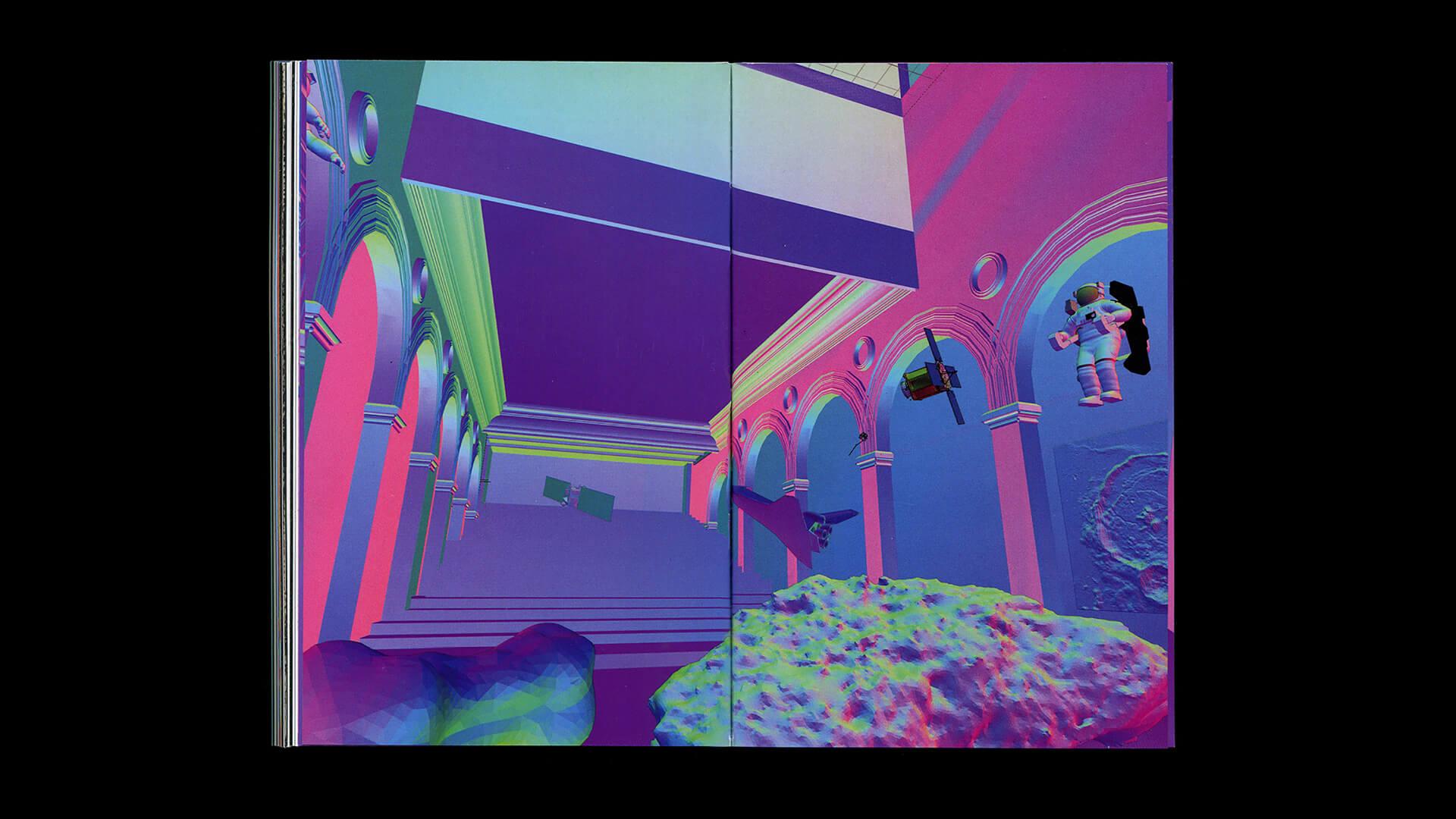 A layout from Still Life | Still Life - Mirrors And Windows - | Mario Santanilla | STIRworld