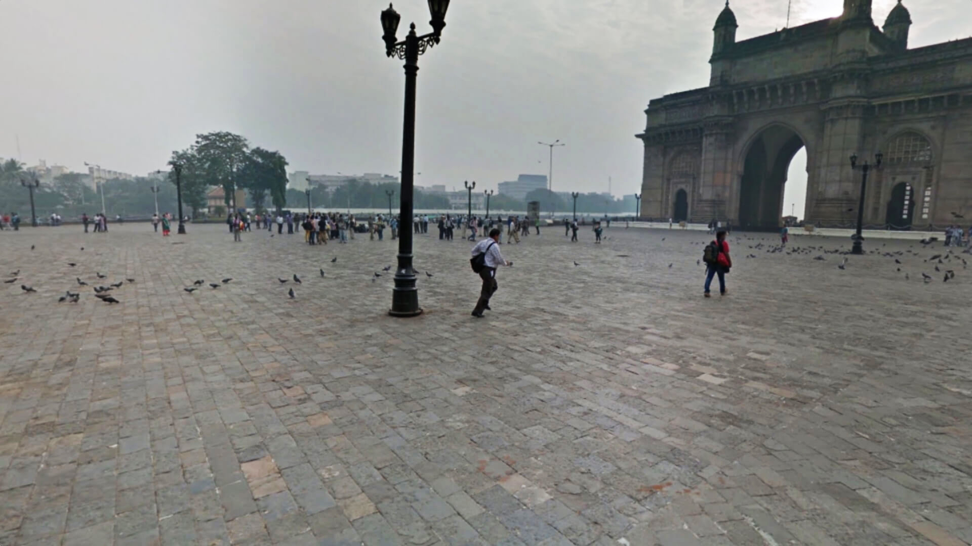 A still from Guided Tour (Gateway of India) | Algo portraits by Tara Kelton | STIRworld