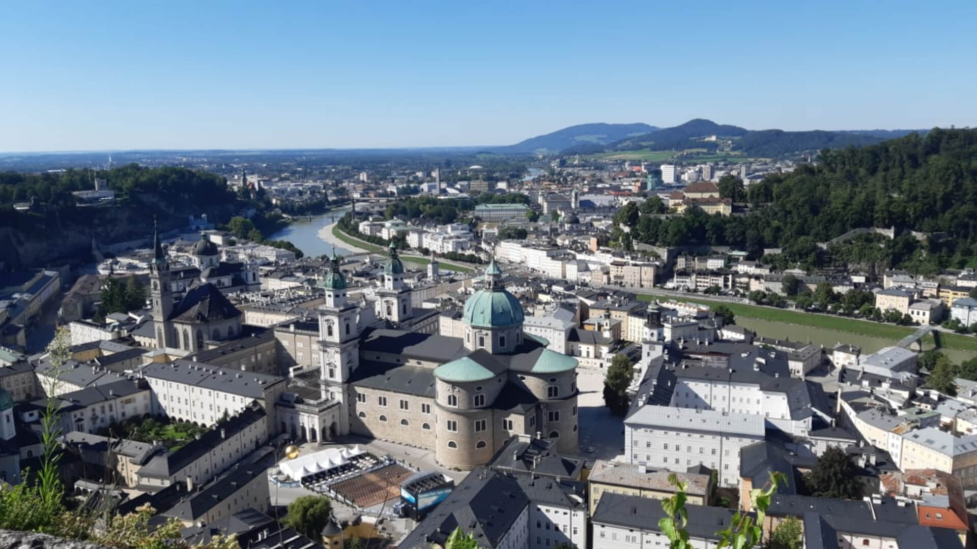 A view of Salzburg from the Fortress Hohensalzburg, where the Salzburg International Summer Academy is located | STIRworld