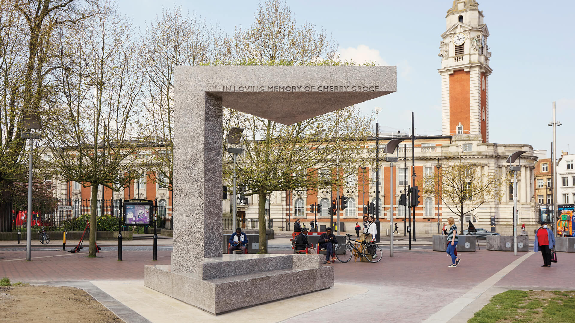 Adjaye Associates unveiled the Cherry Groce Memorial Pavilion in Brixton, near London | Cherry Groce Memorial Pavilion by Adjaye Associates | STIRworld