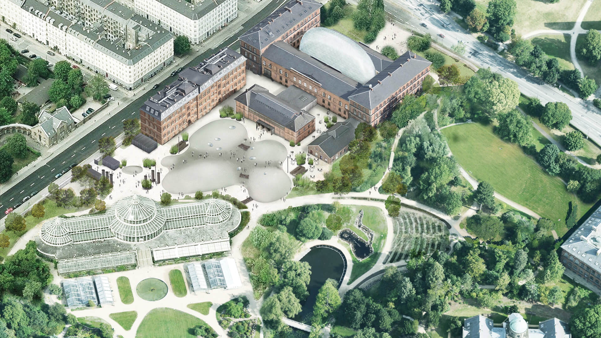 The new Natural History Museum of Denmark is a subterranean wonderland