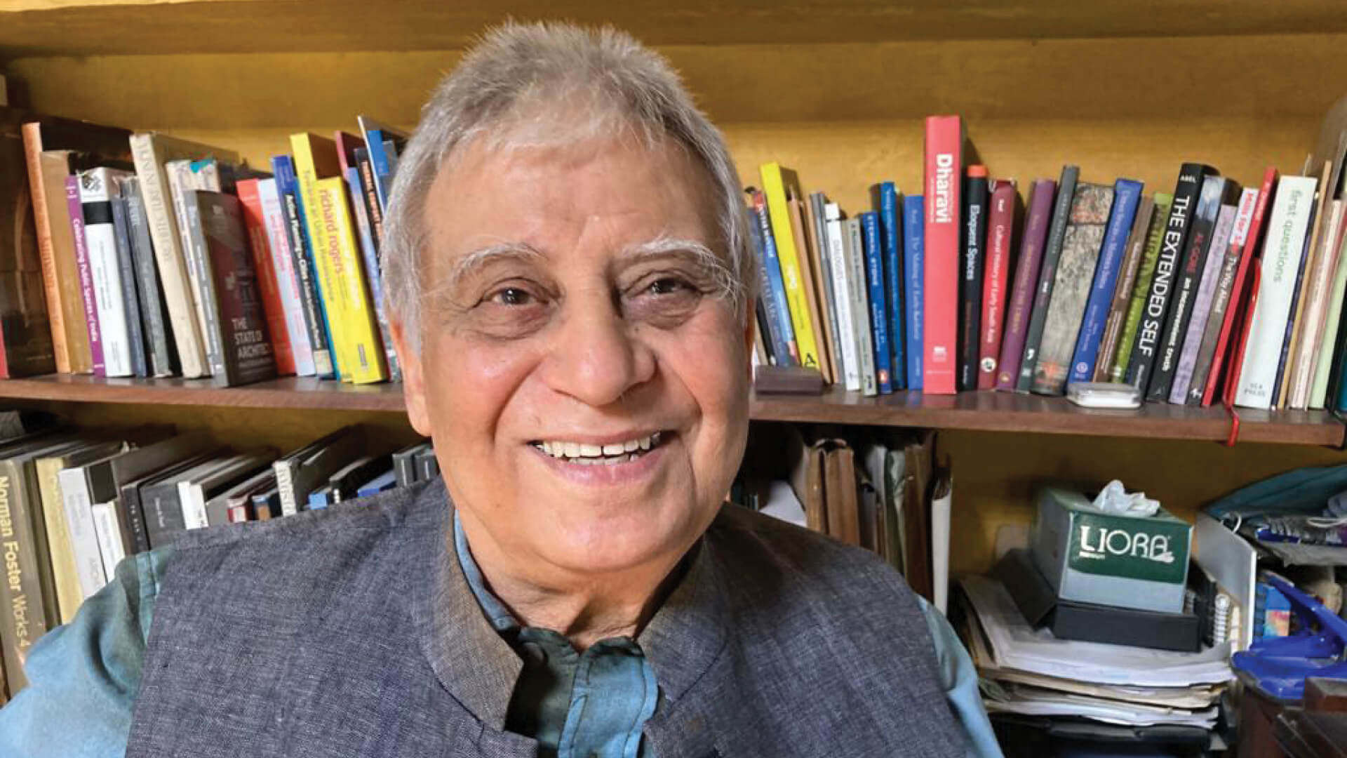 Architect Sudipto Ghosh remembers his mentor Prof. MN Ashish Ganju | STIR Tribute | MN Ashish Ganju