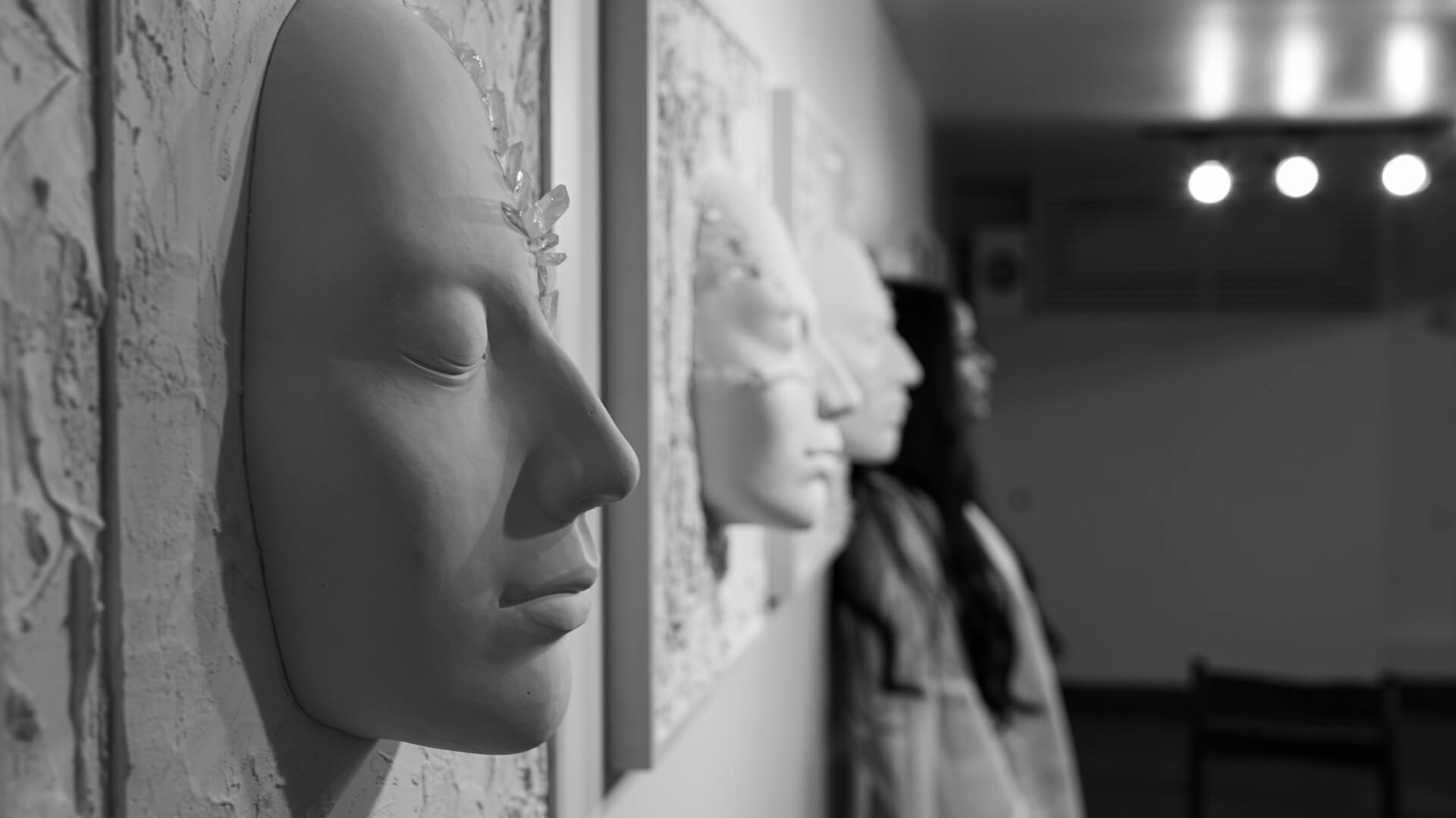 Artist Amonwan Mirpuri with her work at Method Art Space | Dear Women | Amonwan Mirpuri | STIRworld