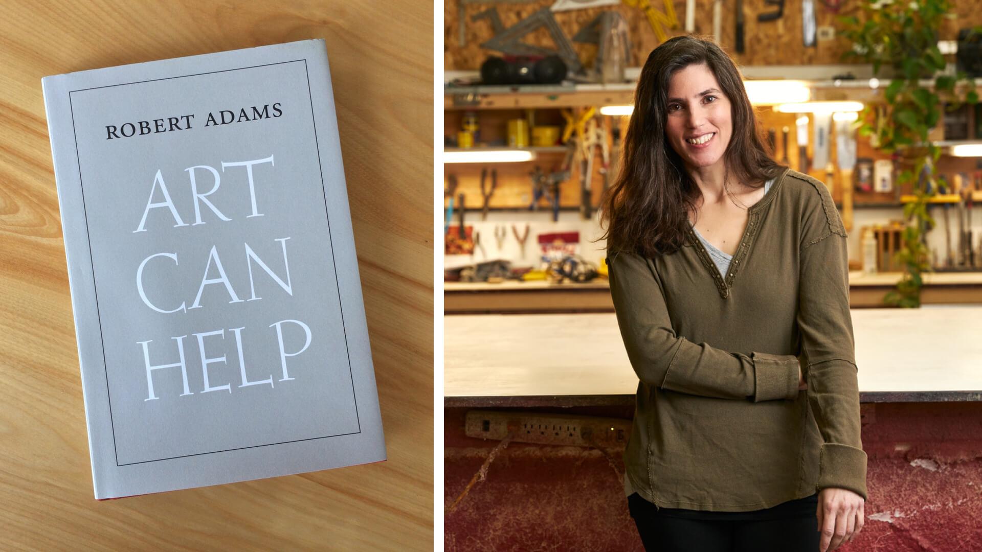 Artist Lauren Henkin is reading Art Can Help, a collection of essays by photographer Robert Adams | What Am I Reading: Lauren Henkin | STIRworld