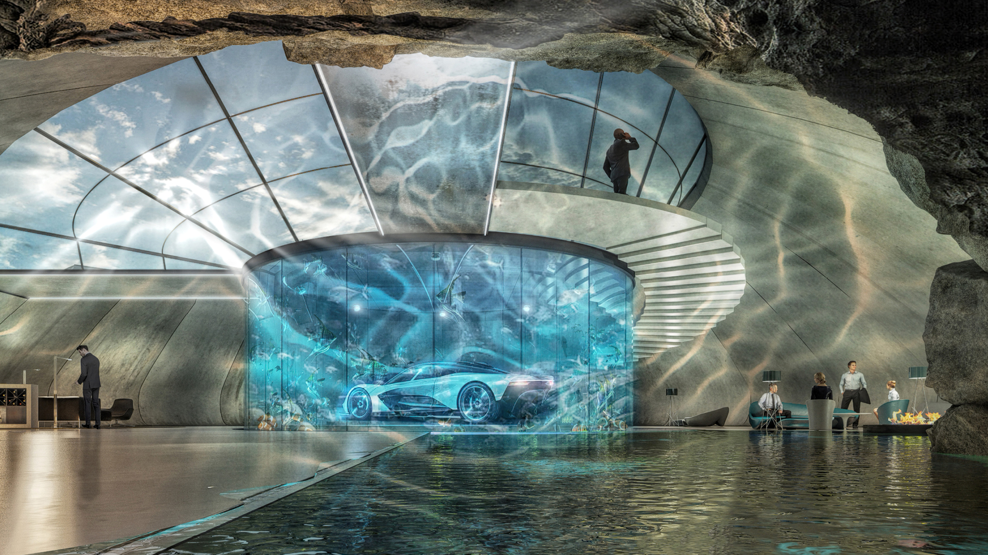 Aston Martin Automotive Galleries and Lairs| STIRworld