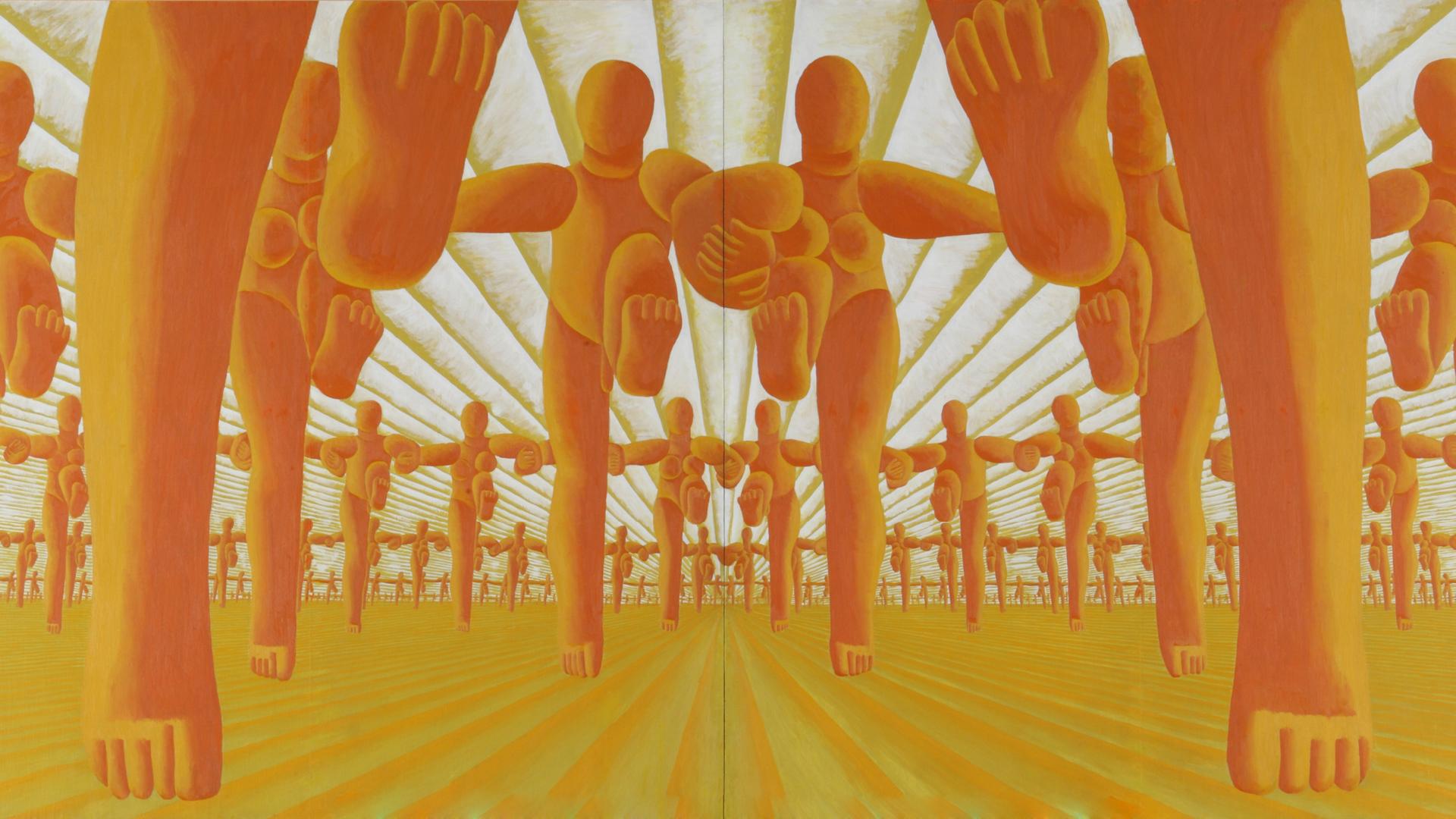 Ay-O, Pastoral, 1956| Museum of Contemporary Art Tokyo| STIR