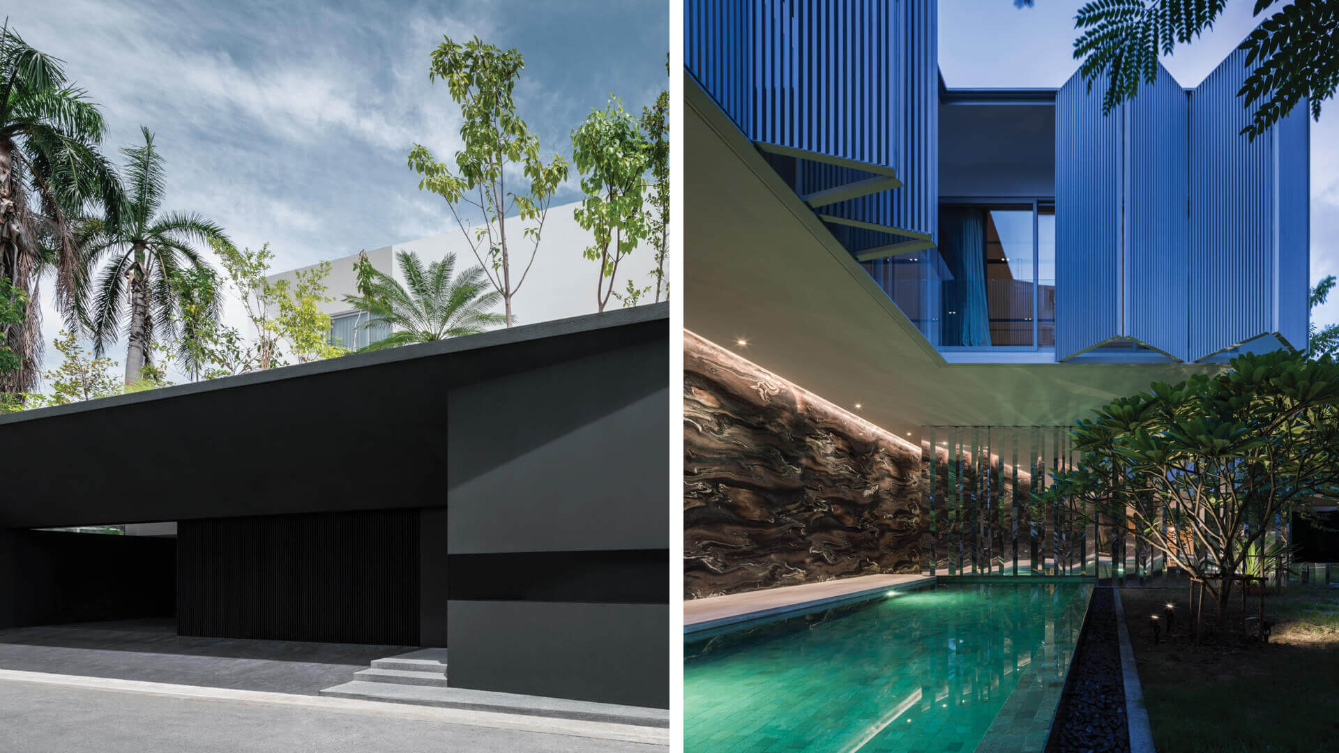 Ayutt and Associates design's Interlude House in Thailand revels in marble opulence