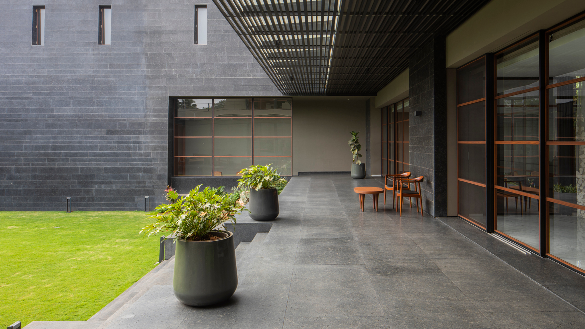Black Bastion House in Coimbatore designed by SPASM Design | Black Bastion House| Spasm Design | STIRworld
