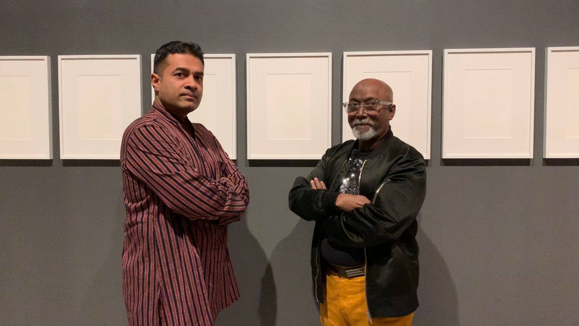 Bose Krishnamachari in conversation with Rahul Kumar | The mirror sees best in dark | Emami Art | STIRworld