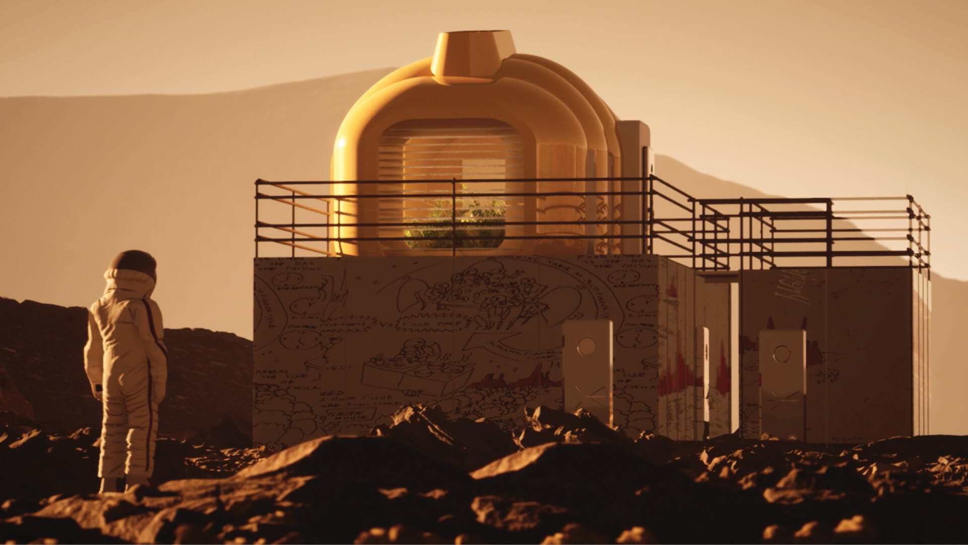 Building a Martian House | Hugh Broughton Architects | Bristol | STIRworld