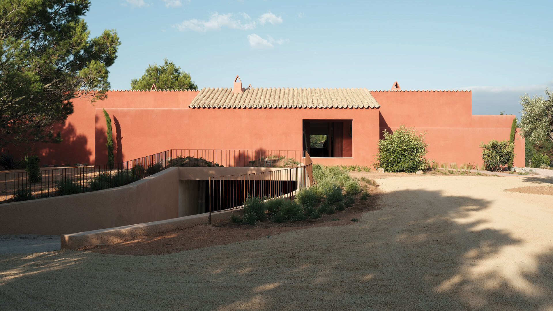 Lover's House by Isla Architects is a Spanish residence bathed in romance