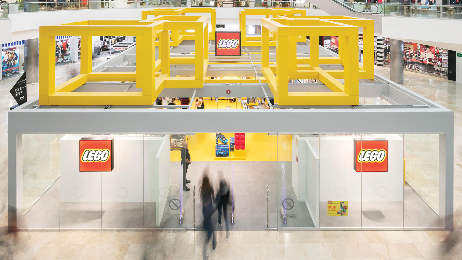 Chain + Siman has designed a colourful LEGO store within a shopping mall in Mexico | LEGO Store, Guadalajara | Chain + Siman Architects | STIRworld