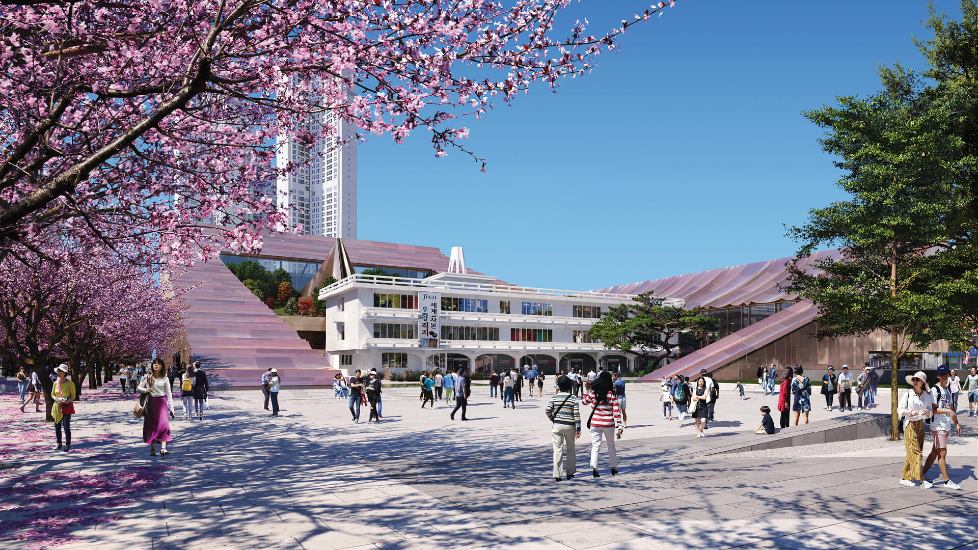 Cheongju New City Hall will depict an integrated and transparent form of governance | Cheongju New City Hall by Snøhetta | STIRworld