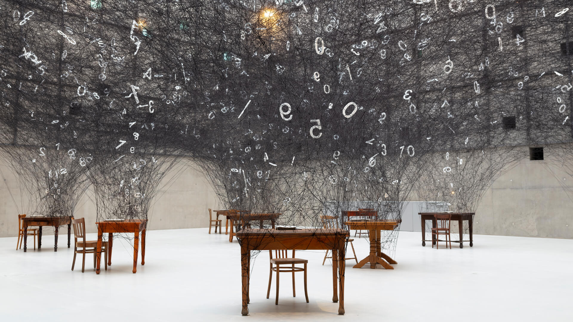 Chiharu Shiota's Counting Memories on display at the Silesian Museum at Katowice | Counting Memories | Chiharu Shiota | STIRworld