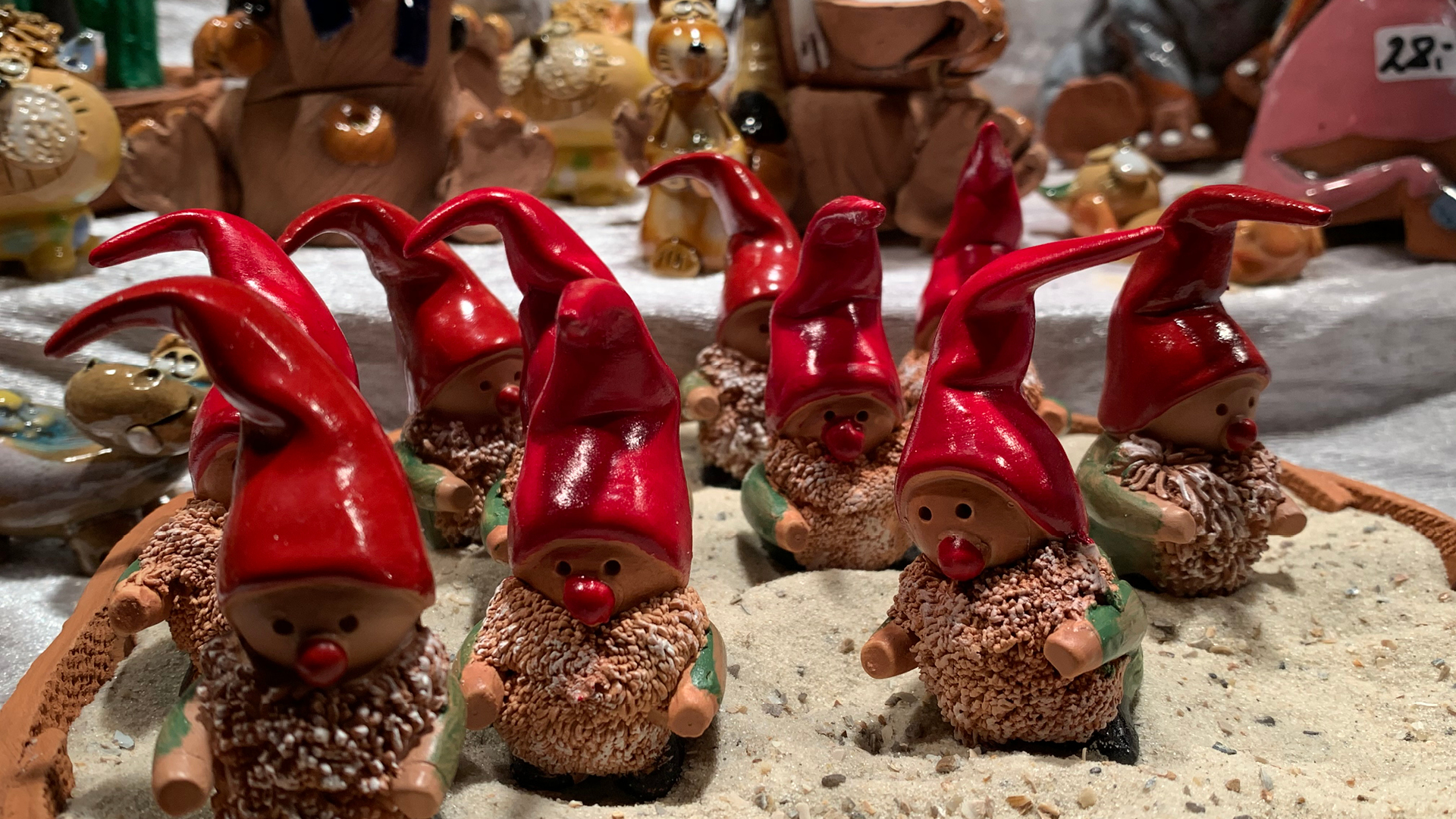 Christmas ornaments at a market in Wiesbaden | Christmas Market | Wiesbaden | STIRworld