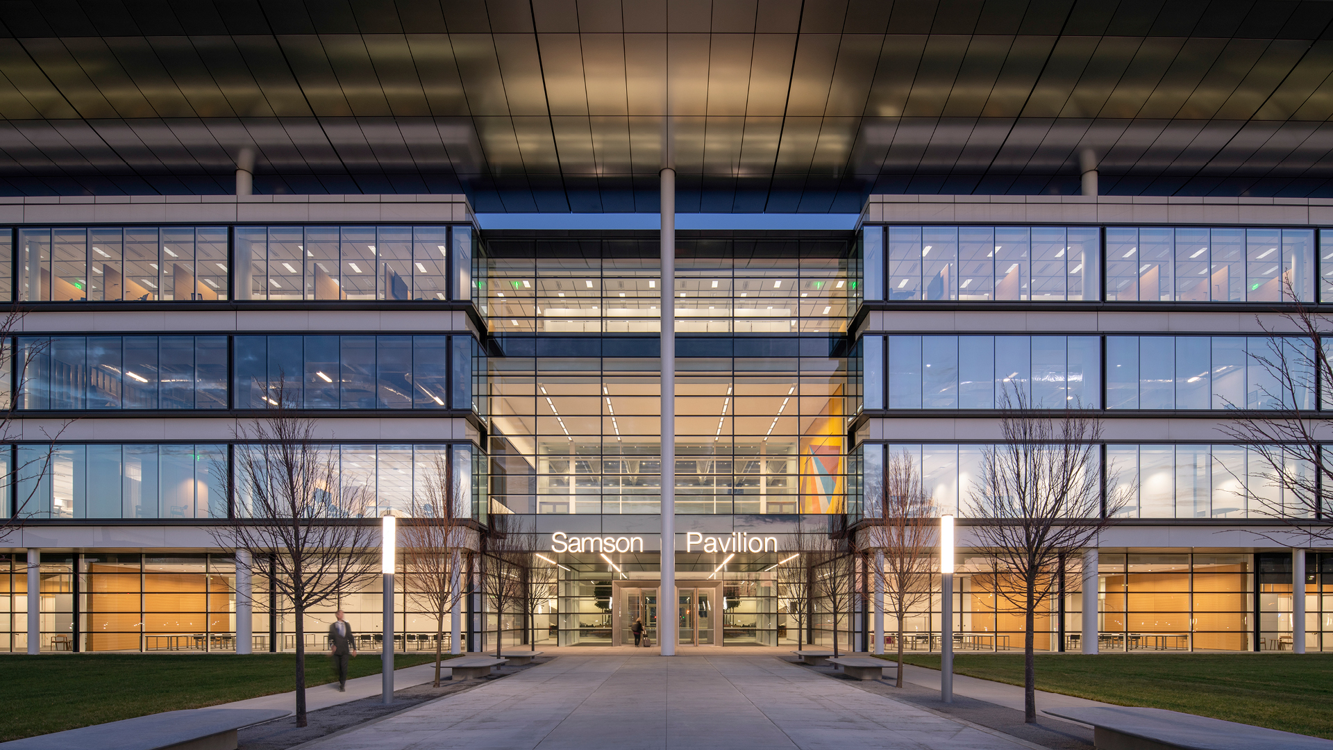 A new pavilion by Foster + Partners pioneers collaborative healthcare in Cleveland