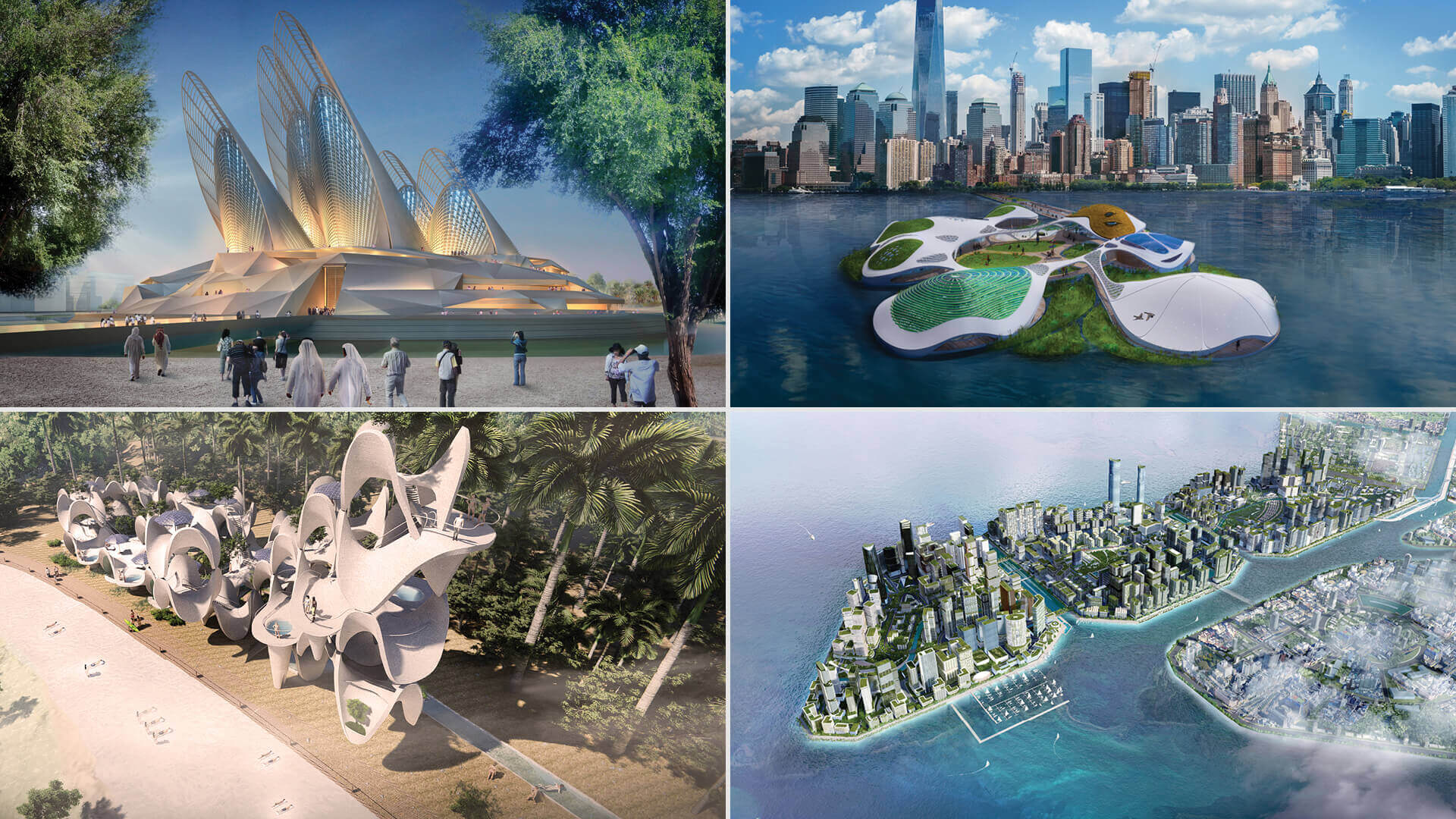 World Architecture Festival awards, WAFX 2021, go to 12 ambitious future projects