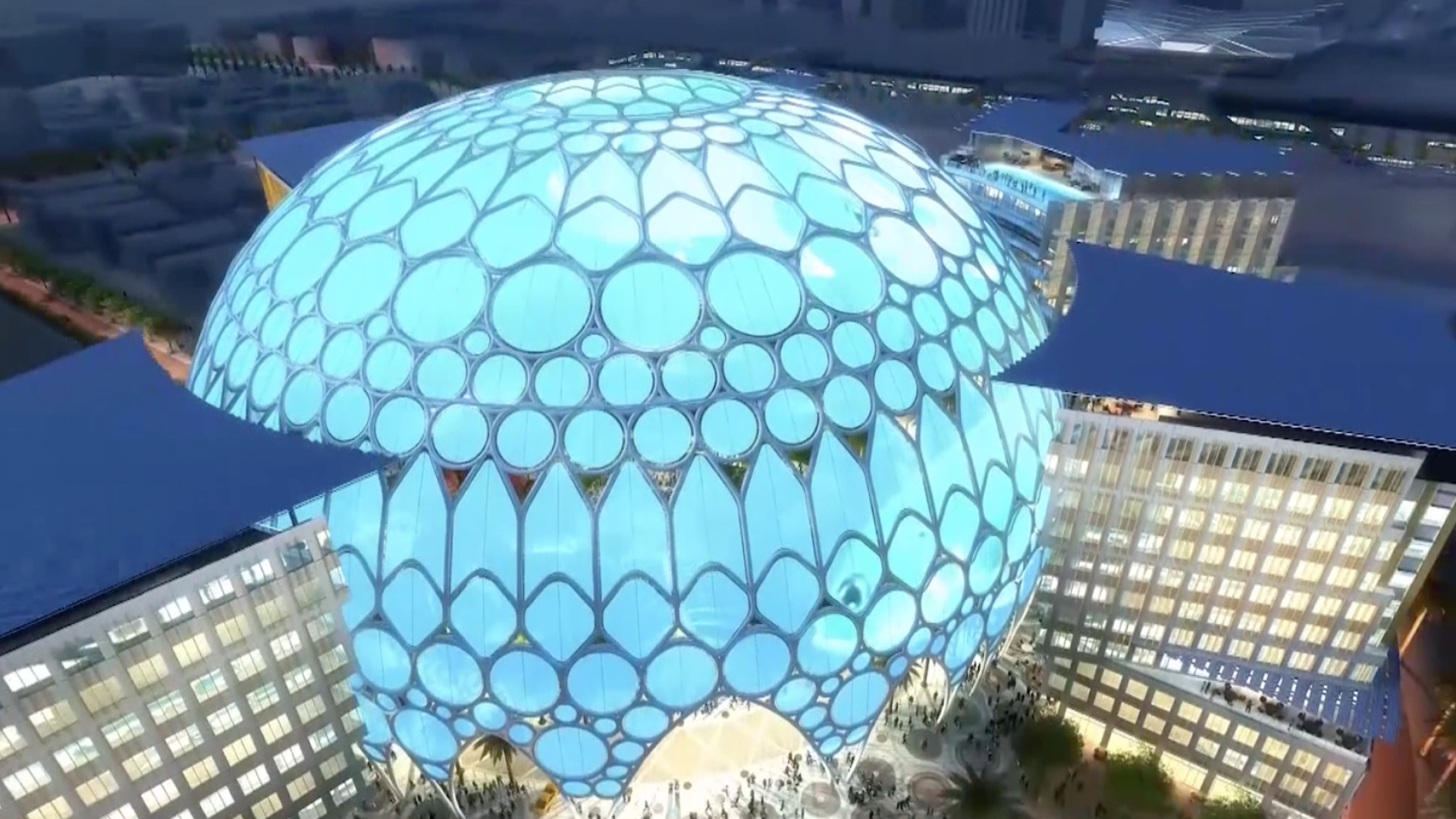 Al Wasl dome for Dubai Expo 2020 is an architectural marvel