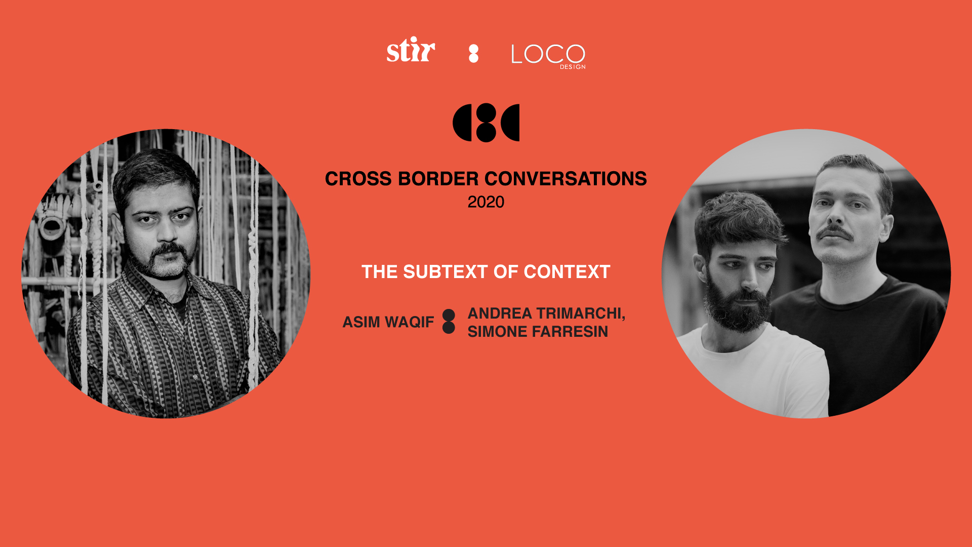 Cross Border Conversations | Studio Formafantasma X Asim Waqif | STIR X LOCO Design
