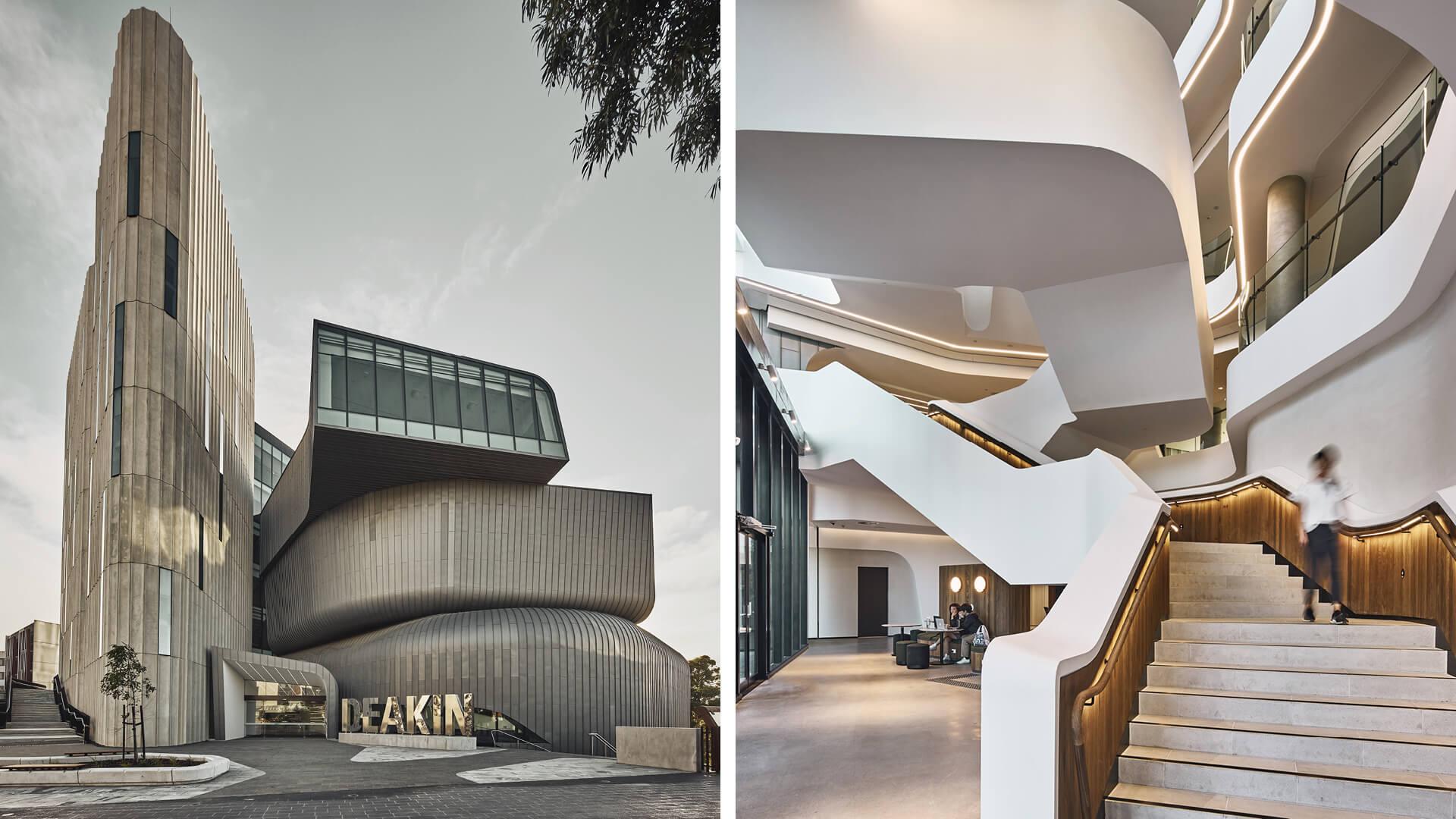 Deakin Law School Building by Woods Bagot in Melbourne, Australia | Deakin Law School Building by Woods Bagot | STIRworld