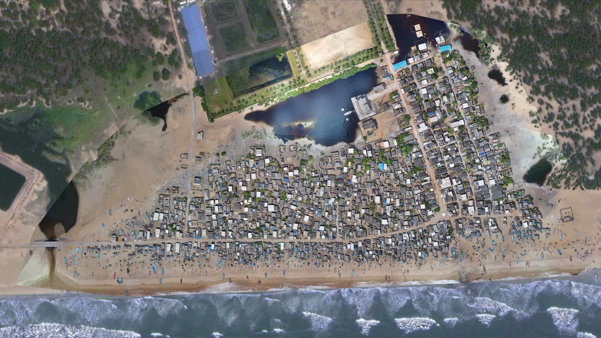 Drone Map of Pilot Site | Jaga Mission | Odisha Liveable Habitat Mission | Norman Foster Foundation | STIRworld