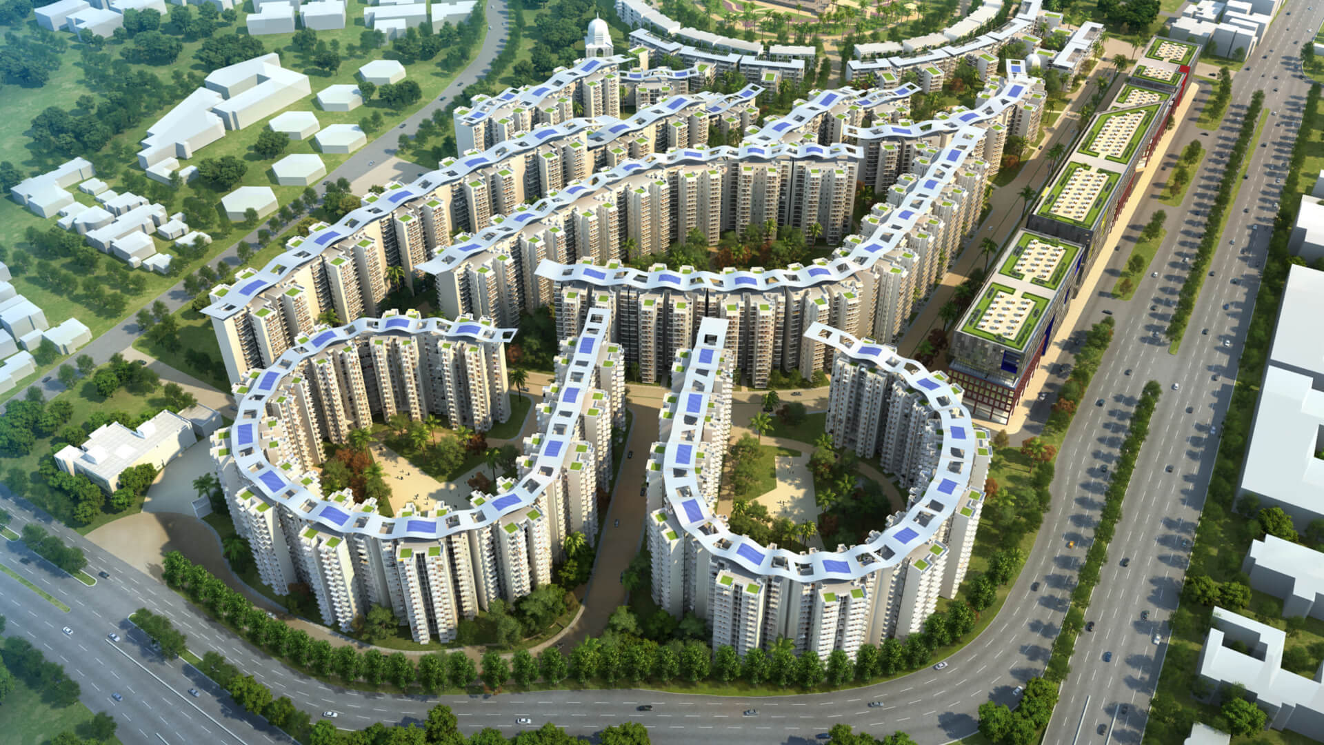 East Kidwai Nagar Redevelopment - proposal by Chapman Taylor.  | Land as public amenity | Ranjit Sabikhi | STIRworld