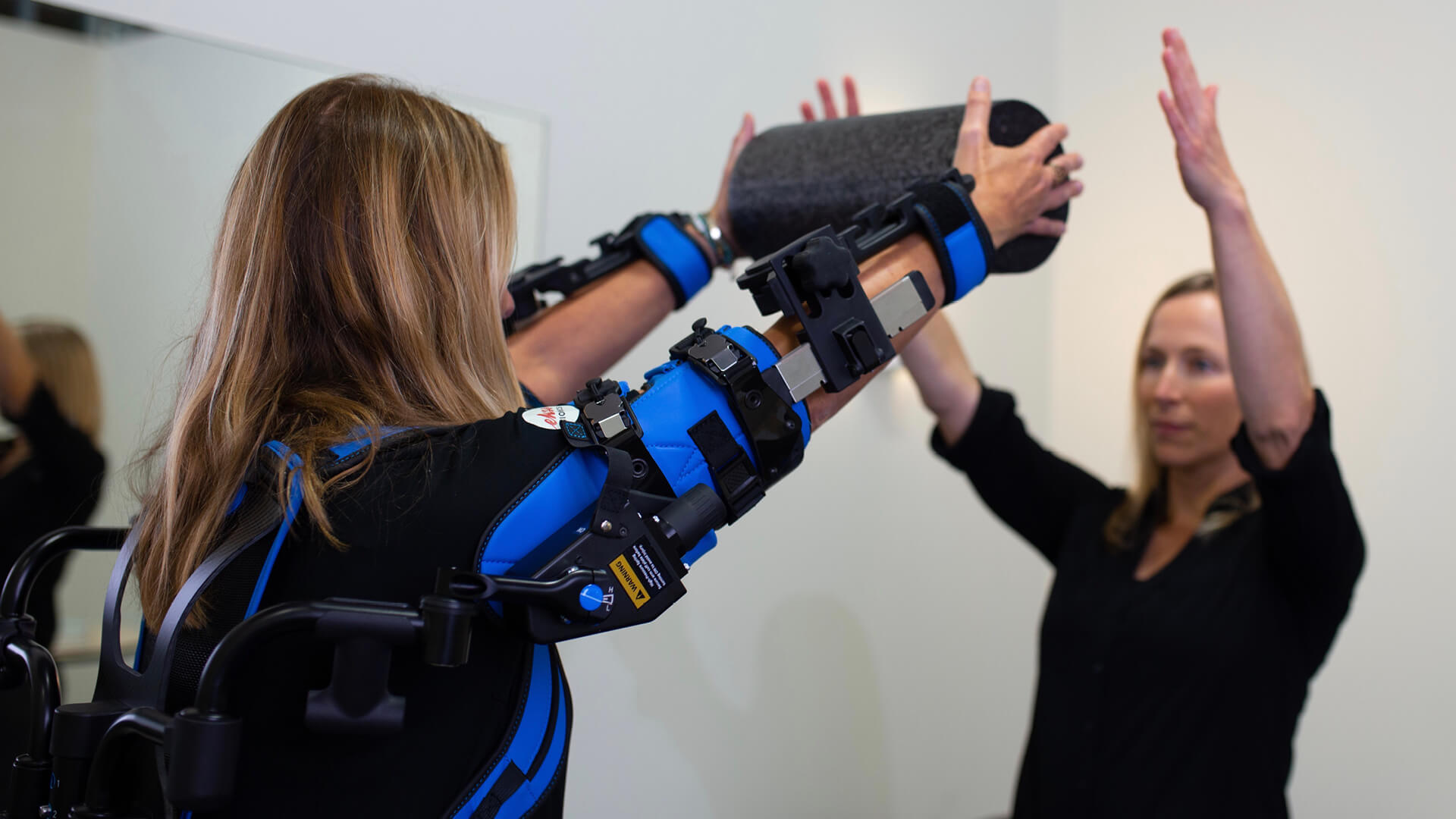 EksoUE, an exoskeleton that works as a rehabilitation tool for the upper extremities | Ekso Bionics, in collaboration with Berkeley Robotics and Human Engineering Laboratory of the University of California | STIRworld
