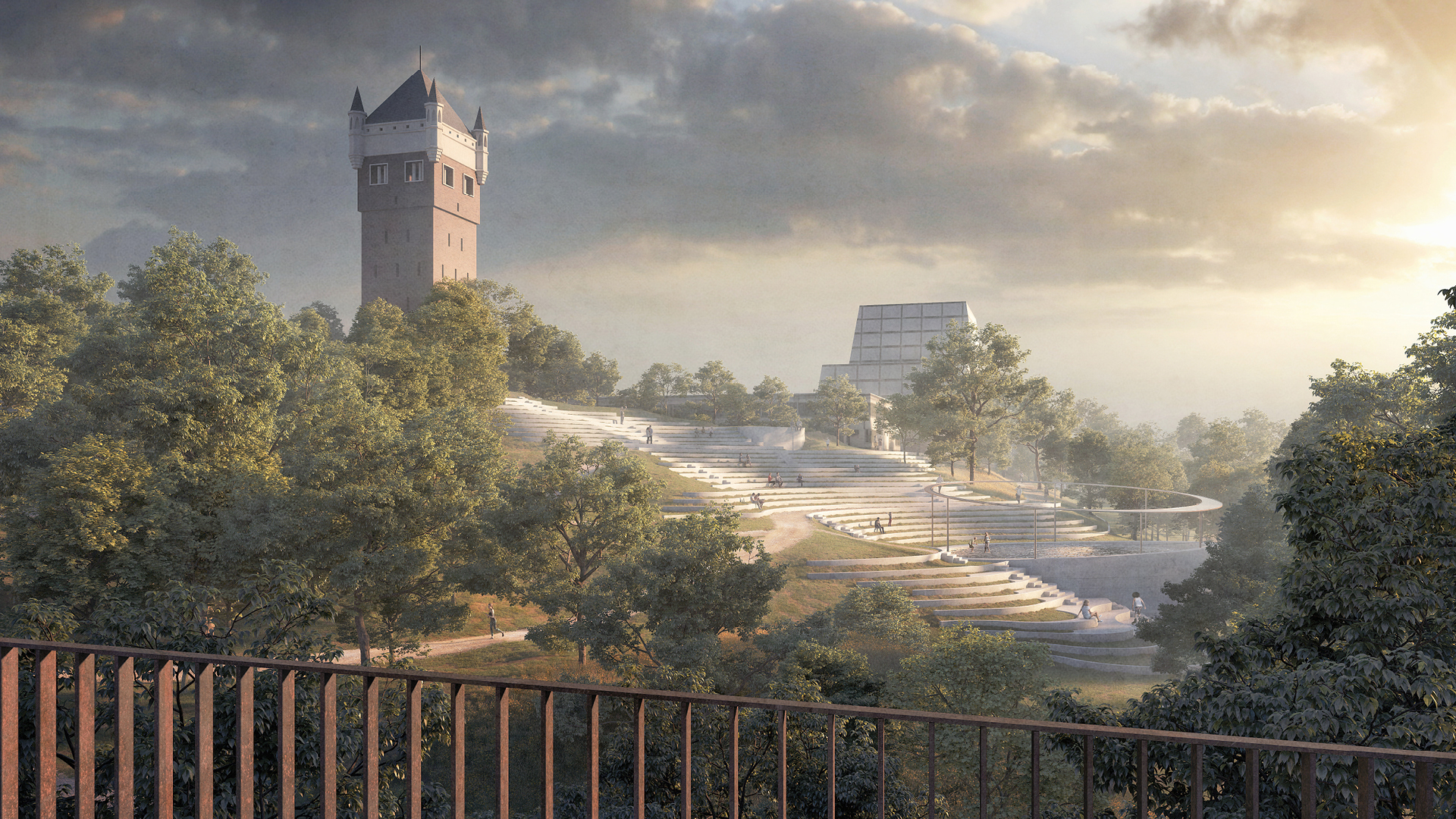 Esbjerg Bypark – a view from the bridge| Henning Larsen| STIR