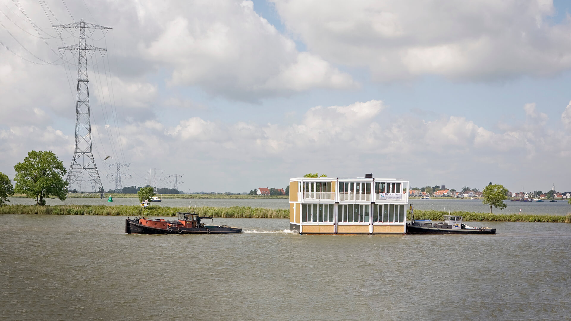 Floating Houses IJburg, Amsterdam, by Marlies Rohmer Architects & Urbanists | Sea of Change  | Roca London Gallery | STIRworld