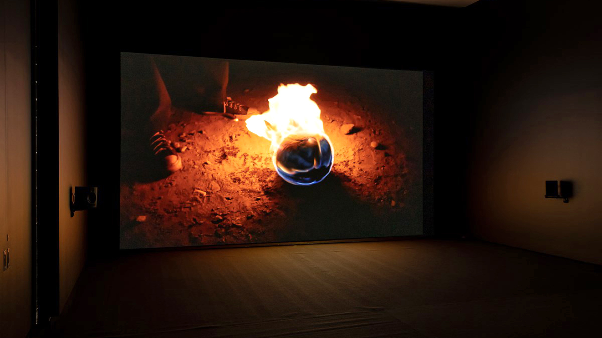 Francis Alÿs, Paradox of Praxis 5: Sometimes we dream as we live & sometimes we live as we dream, Ciudad Juárez, Mexico (2013); exhibition view at TarraWarra Museum of Art| TarraWarra International 2019: The Tangible Trace| STIR