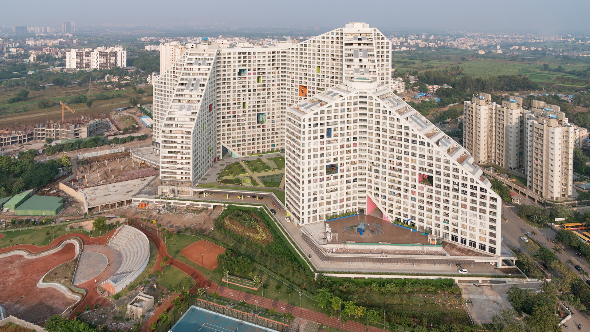Future Towers, Amanora Park Town, Pune, India| Future Towers| MVRDV| STIR